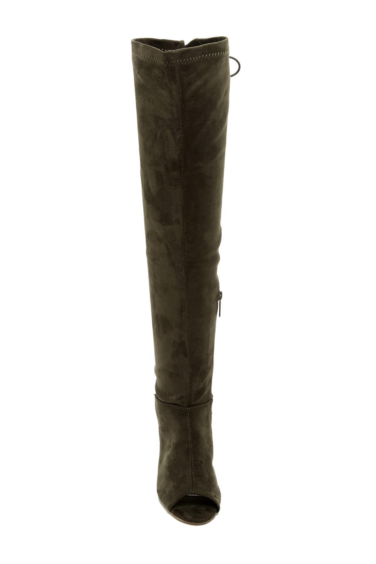 Elegant Footwear Gala Lace-Up Over-the-Knee Boot jORXiSjv