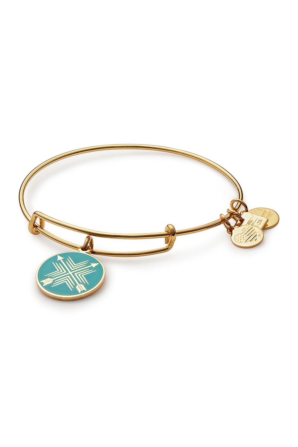 a70c00034e706 Women's Metallic Charity By Design Arrows Of Friendship Charm Bangle