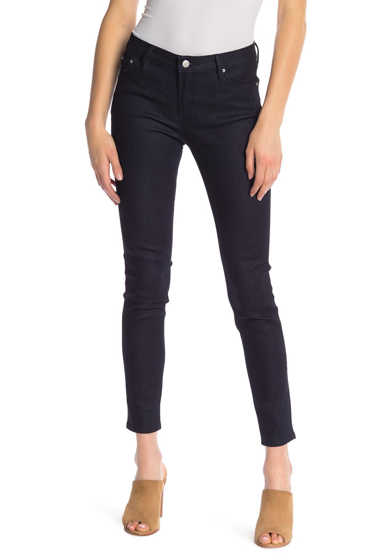 bbca3ff90123f Lyst - Earnest Sewn Natasha Mid Rise Skinny Jeans in Blue