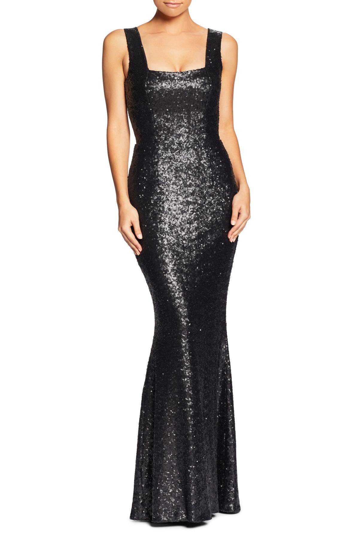 aac0ae4b2be Dress the Population Raven Sequin Gown (nordstrom Exclusive) in ...