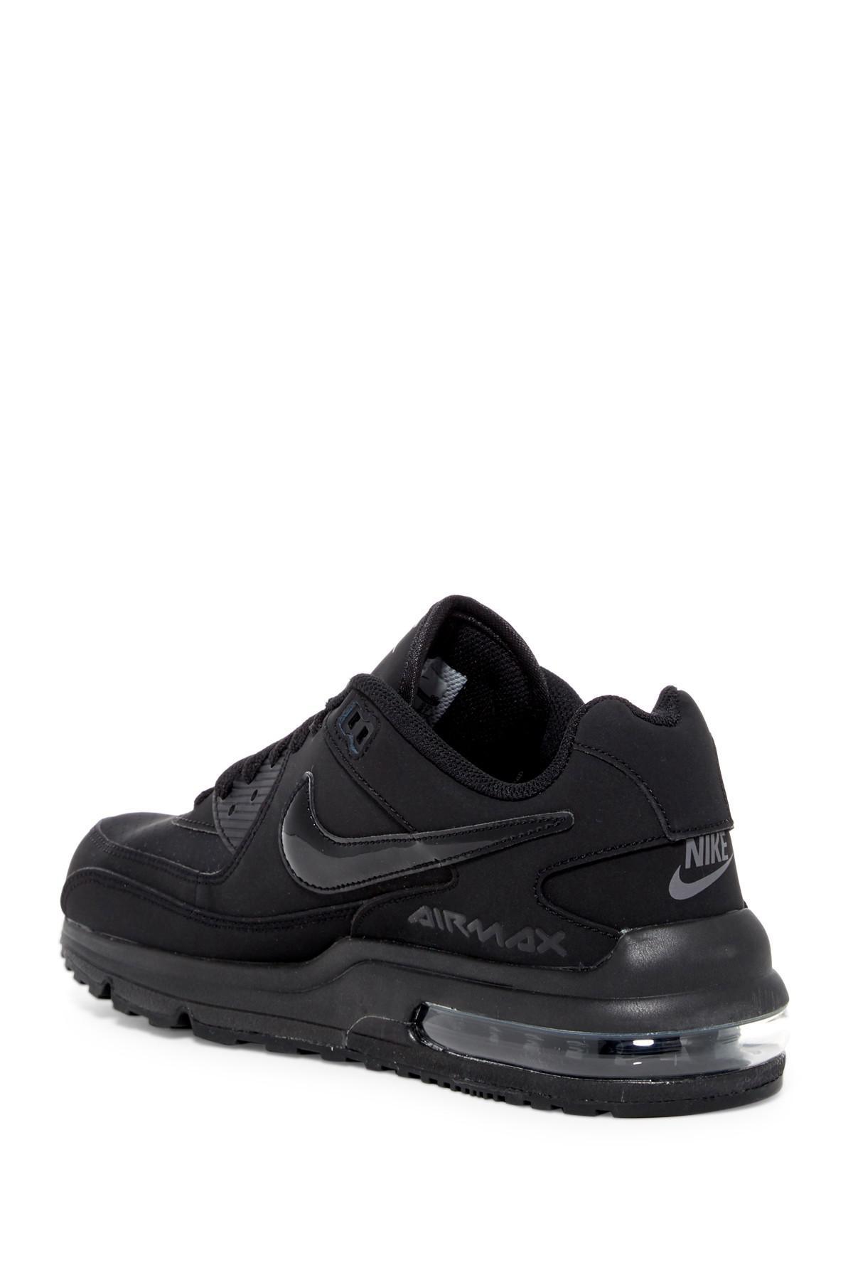 Nike Leather Air Max Wright 3 Sneaker (men) in Black-Black ...