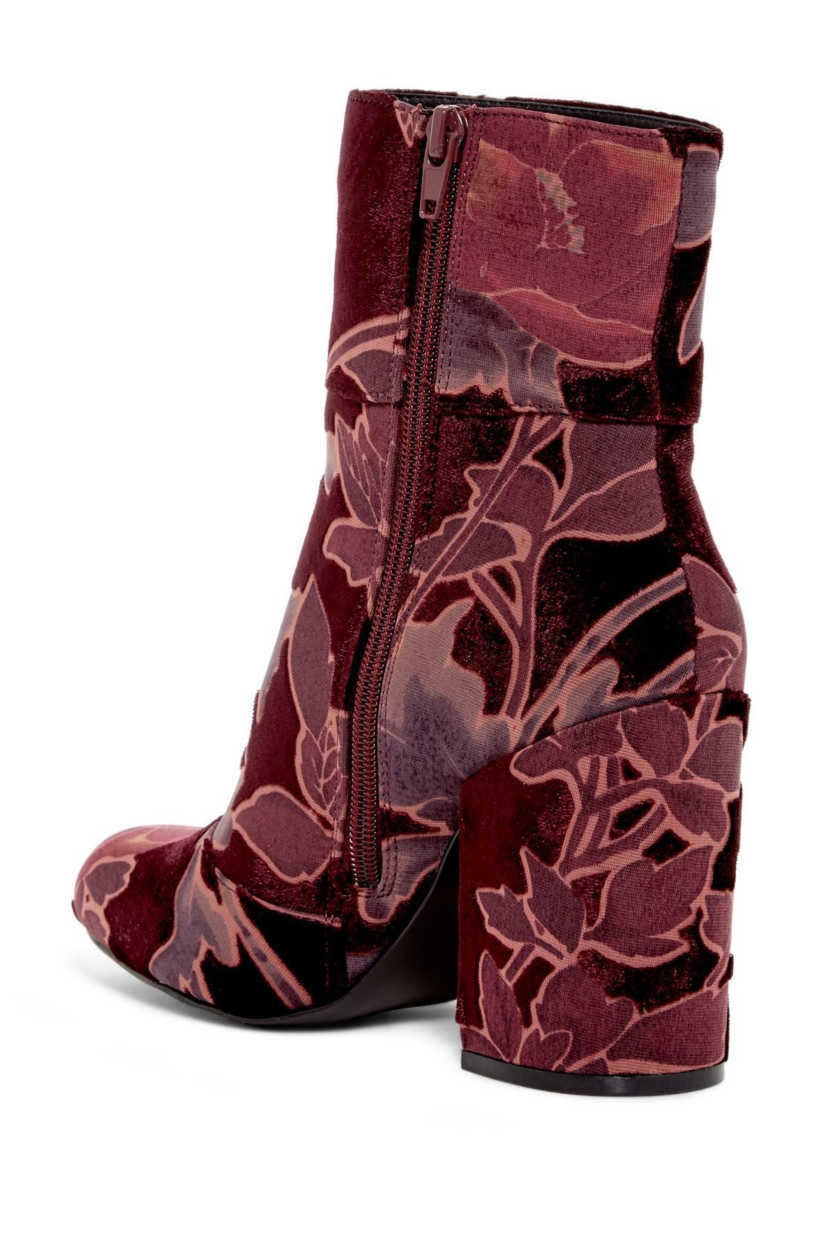 e18258a6c66 Lyst - Steve Madden Goldie Block Heel Mid Boot