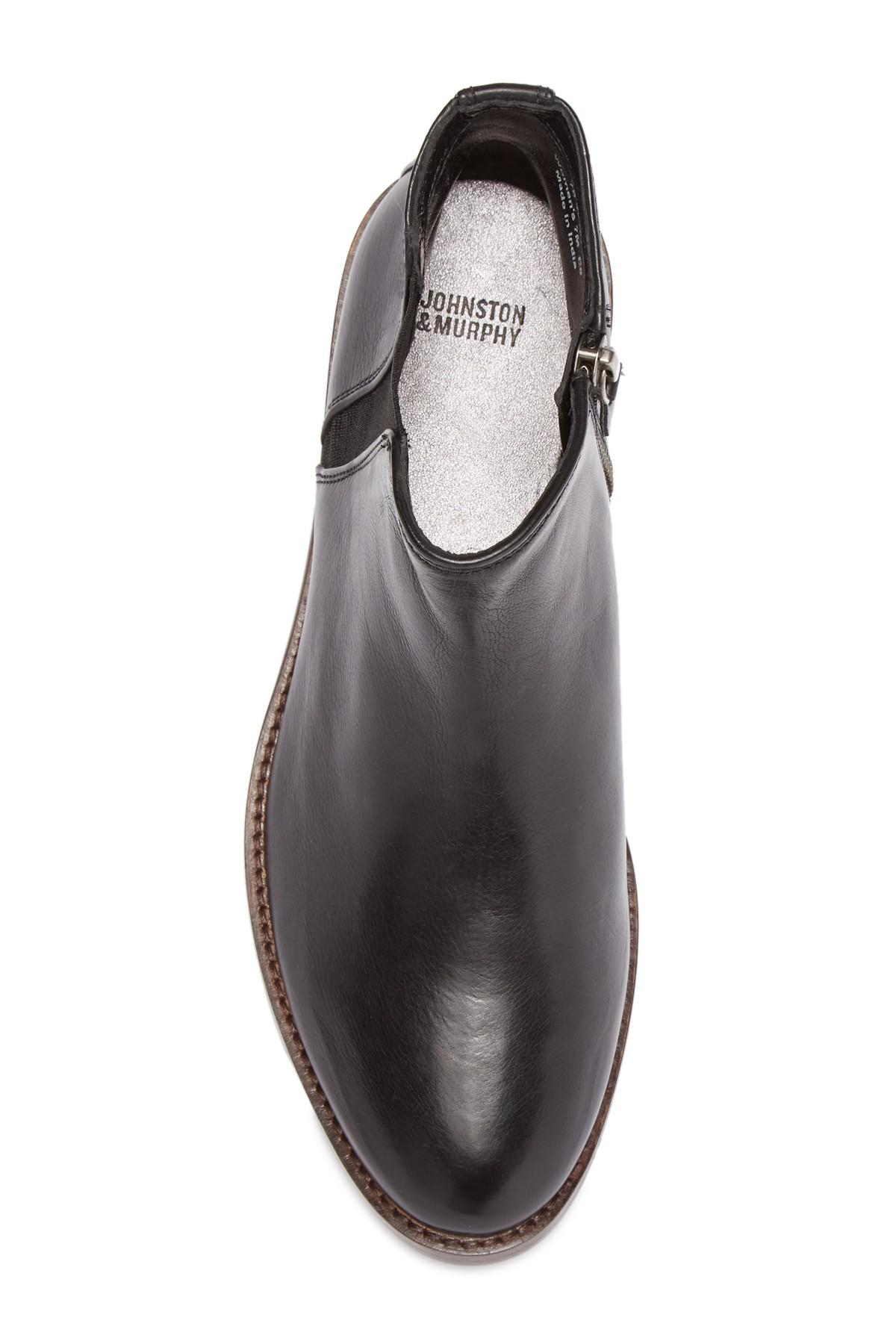 johnston and murphy leslie boot