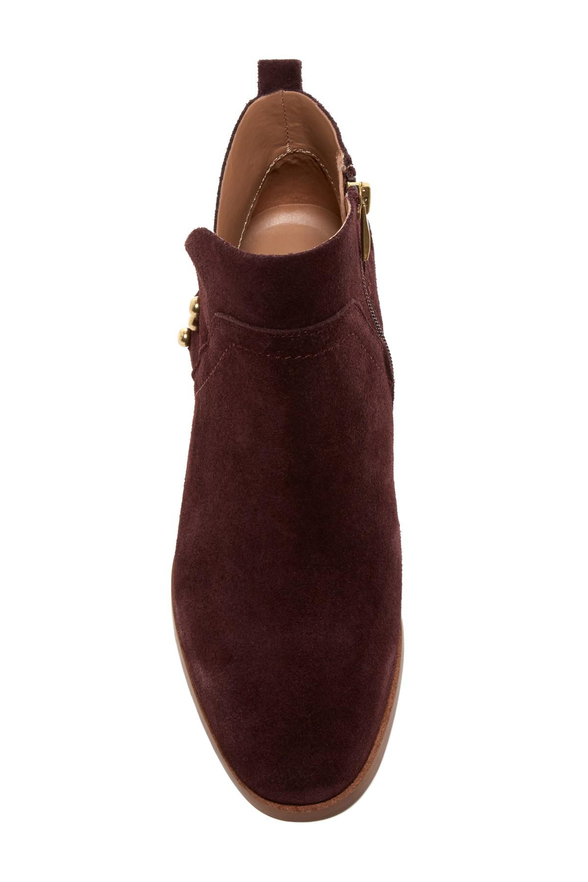 2a3a25929d7 Lyst - Franco Sarto Ruby Post Button Boot