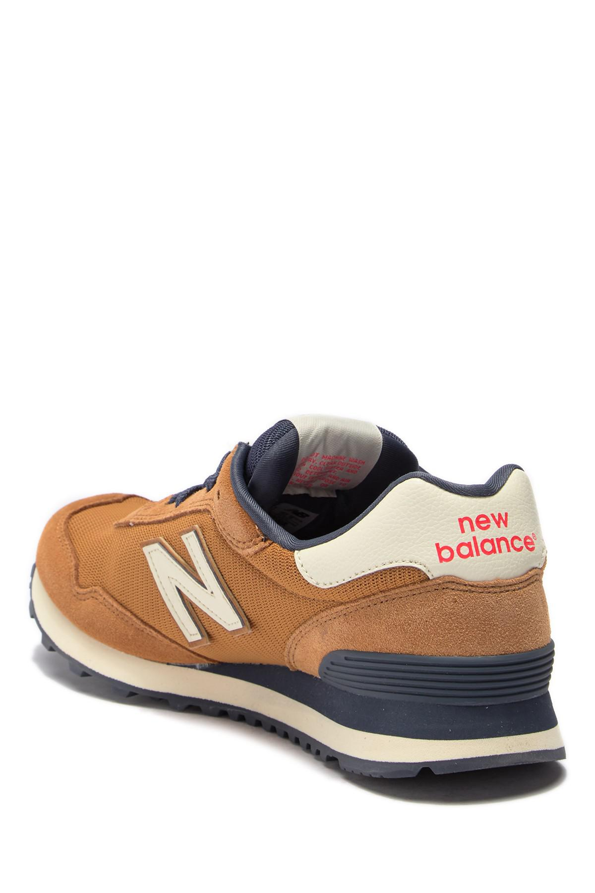 New Balance Suede 515 Classic Sneaker in Brown for Men - Lyst