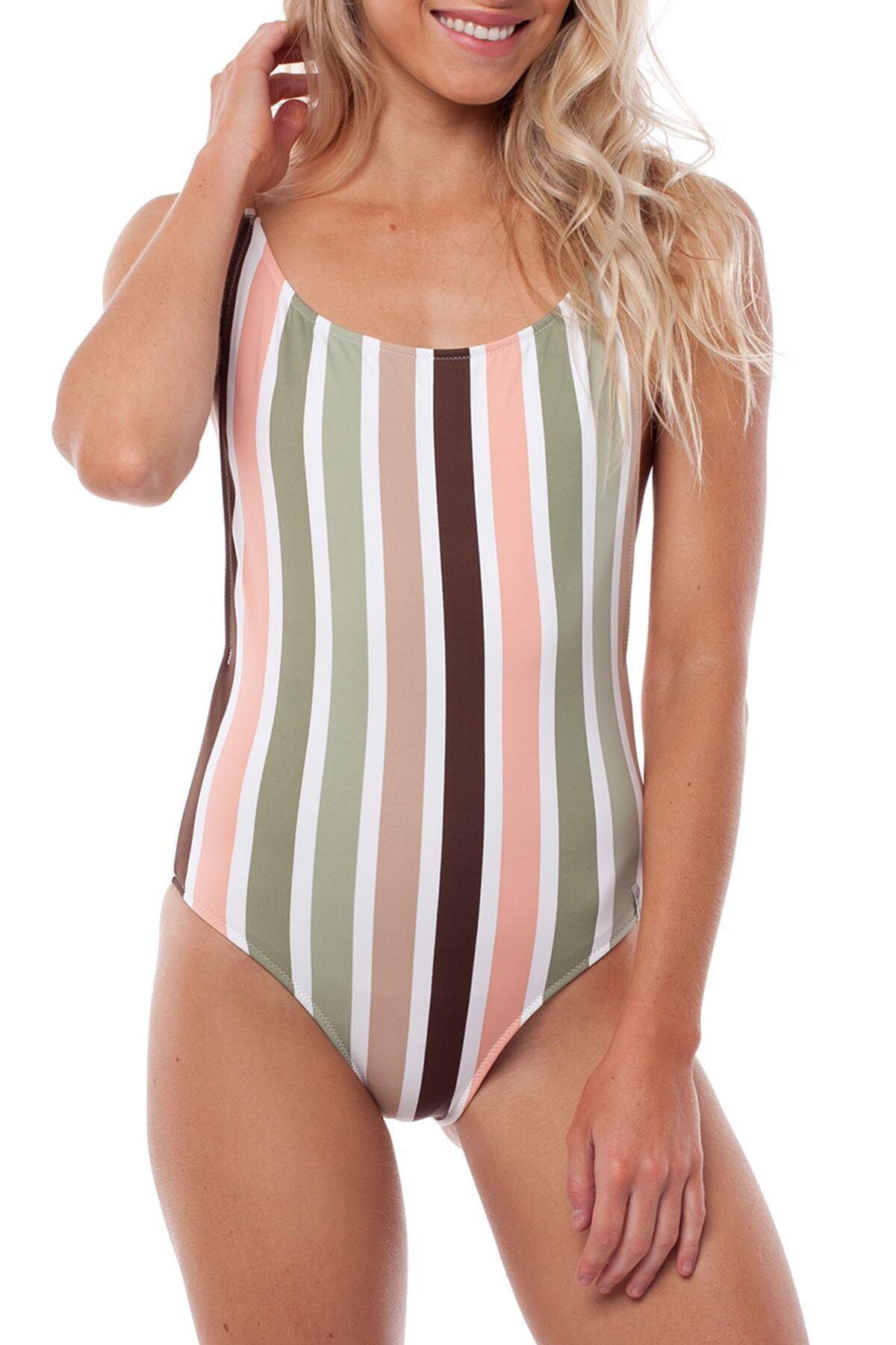 541b18bf7c466 Lyst - Rhythm Zimbabwe One-piece Swimsuit - Save 17%