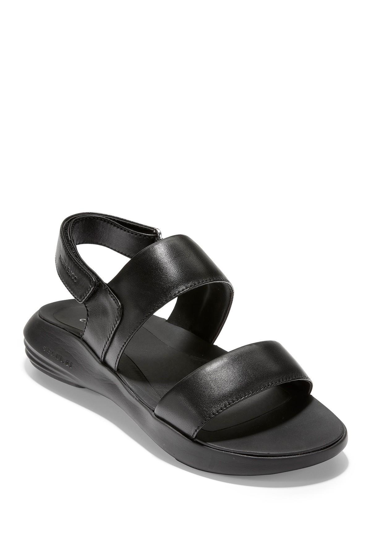 Cole Haan Ella Zerogrand Leather Sandal