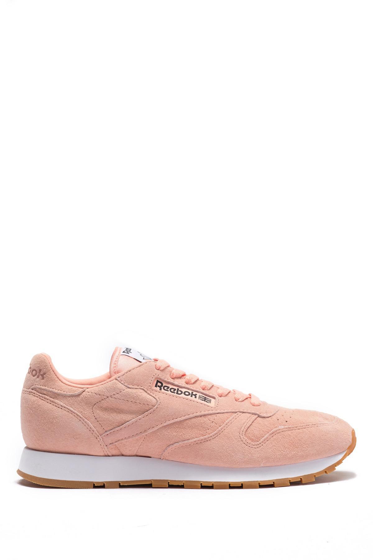 771862ed0e59 Reebok - Pink Classic Suede Pastel Ebk Sneaker for Men - Lyst. View  fullscreen