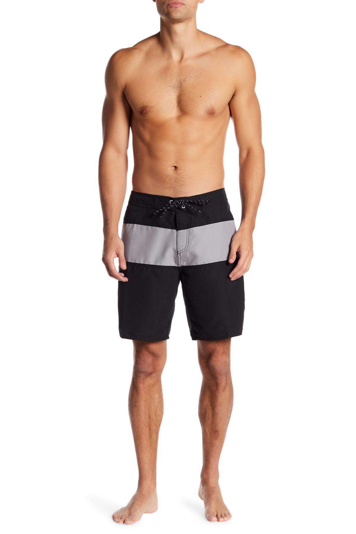 586720c1fe Lyst - Tavik Spectrum Board Shorts in Black for Men