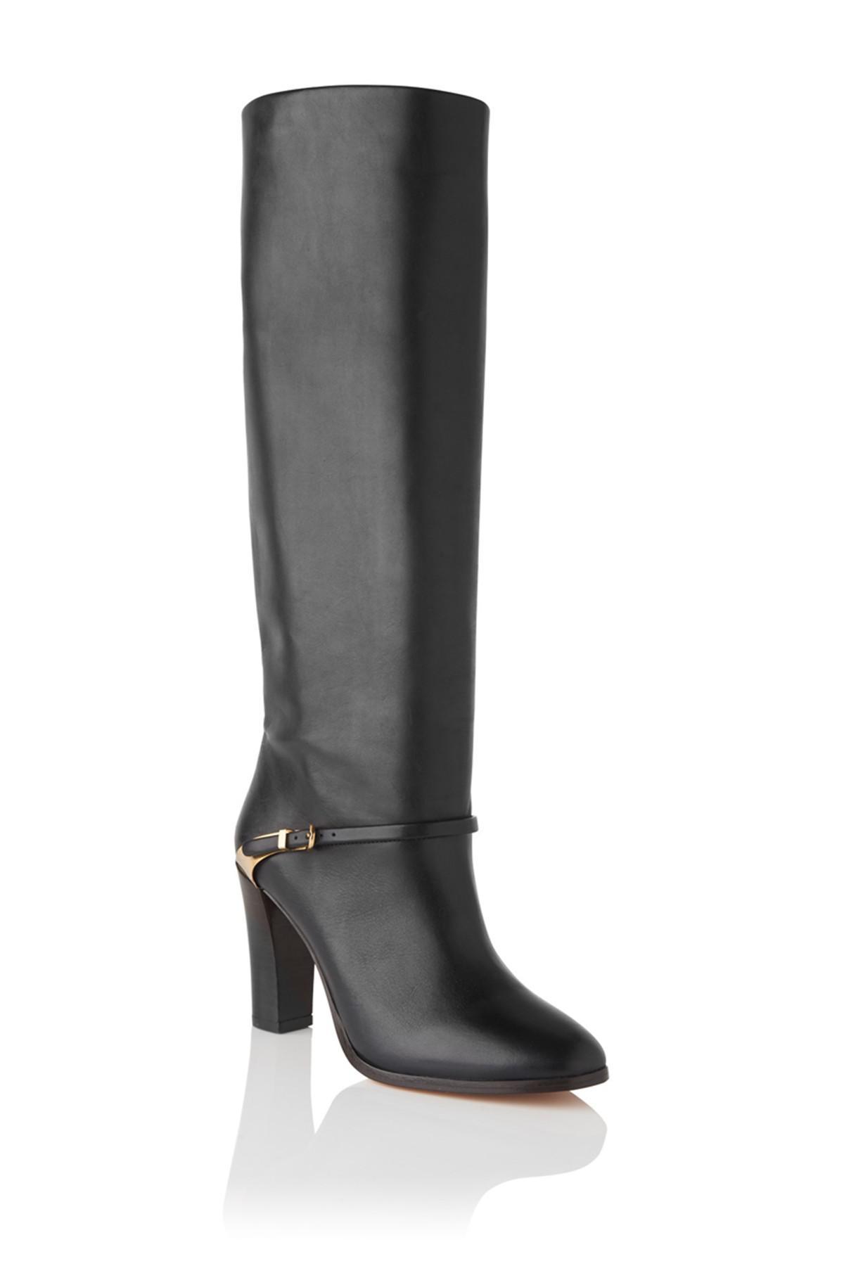 20cb8320238 Lyst - L.K.Bennett Harlie Knee High Boot in Black
