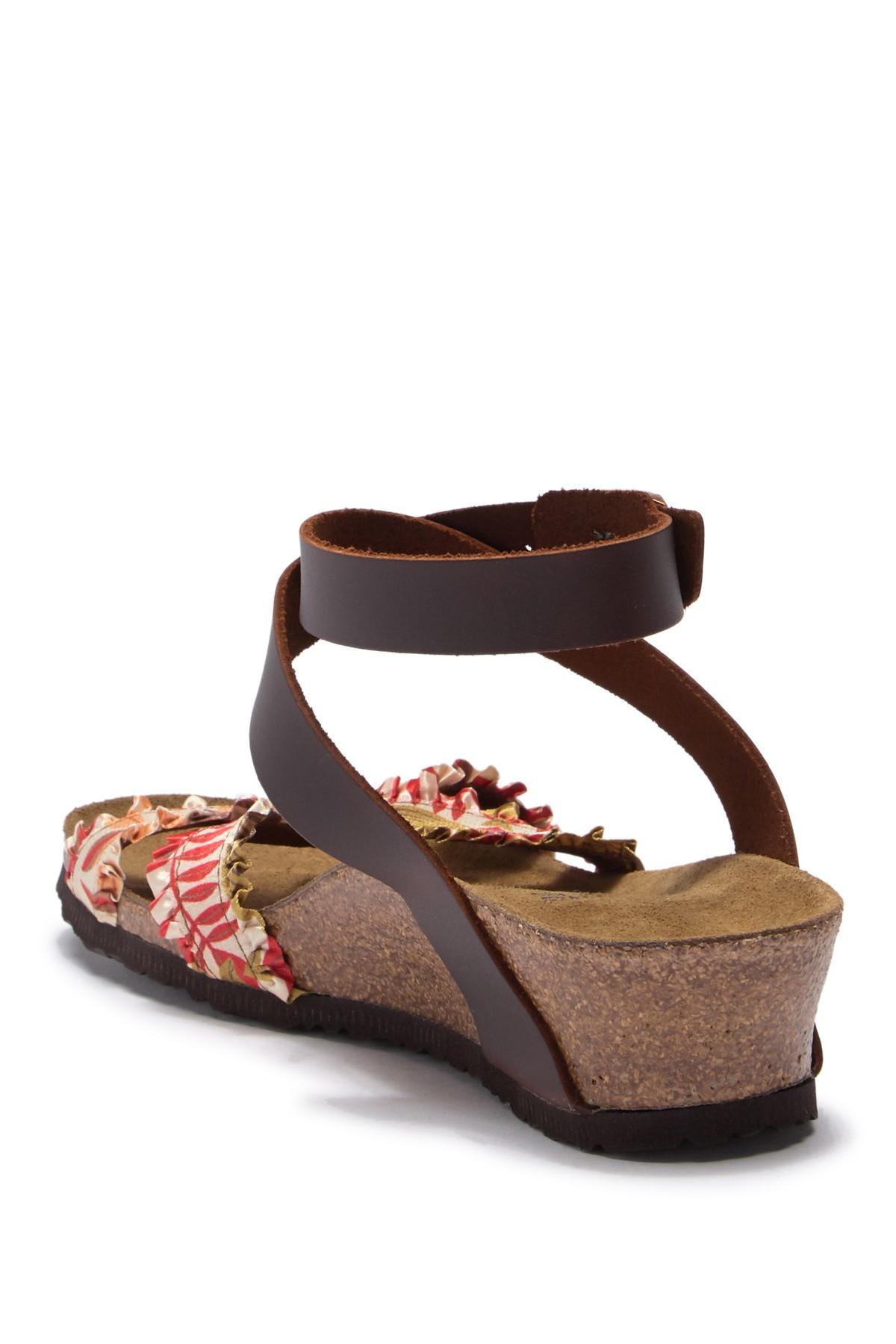 2a8724e48f2b Birkenstock - Brown Lola Wedge Sandal - Discontinued - Lyst. View fullscreen
