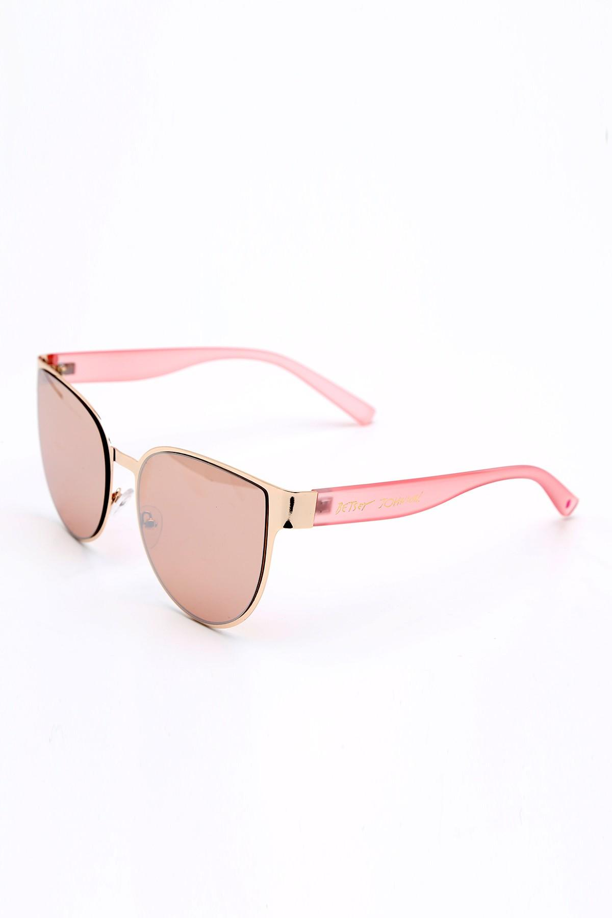 34298c02d6f33 Betsey Johnson - Pink 55mm Cat Eye Sunglasses - Lyst. View fullscreen