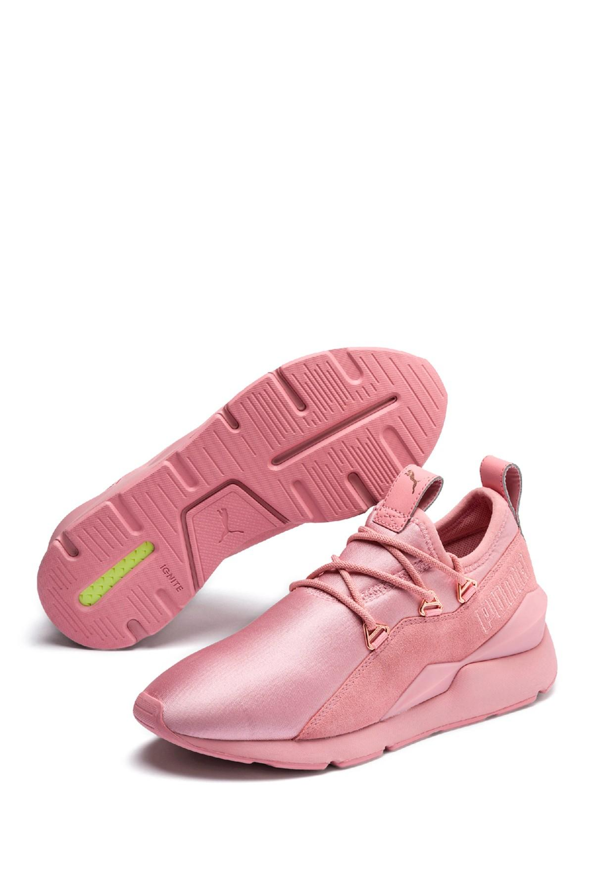 PUMA Suede Muse 2 Sneakers in Pink - Lyst
