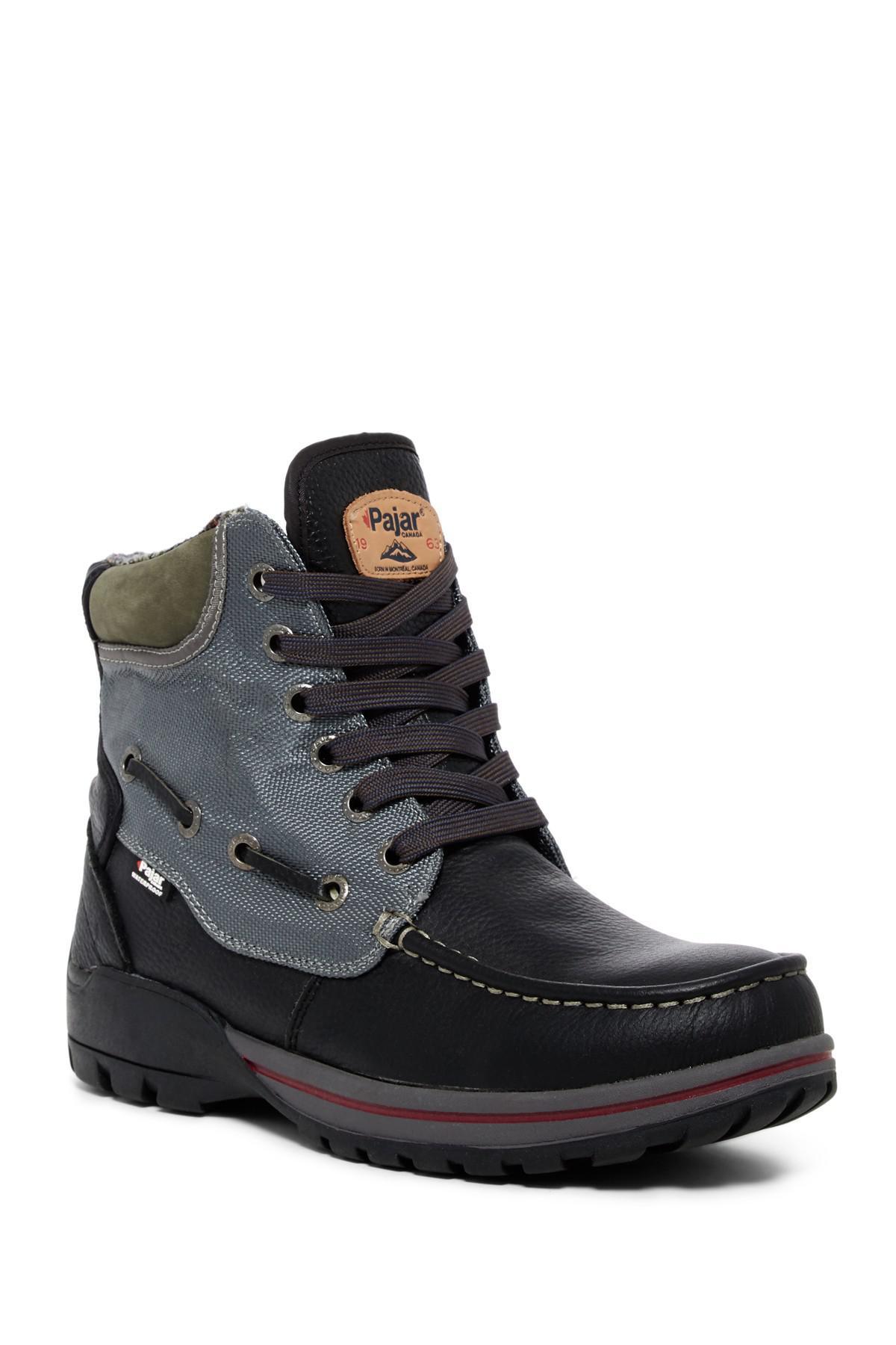 Pajar Leather Brent Waterproof Boot in