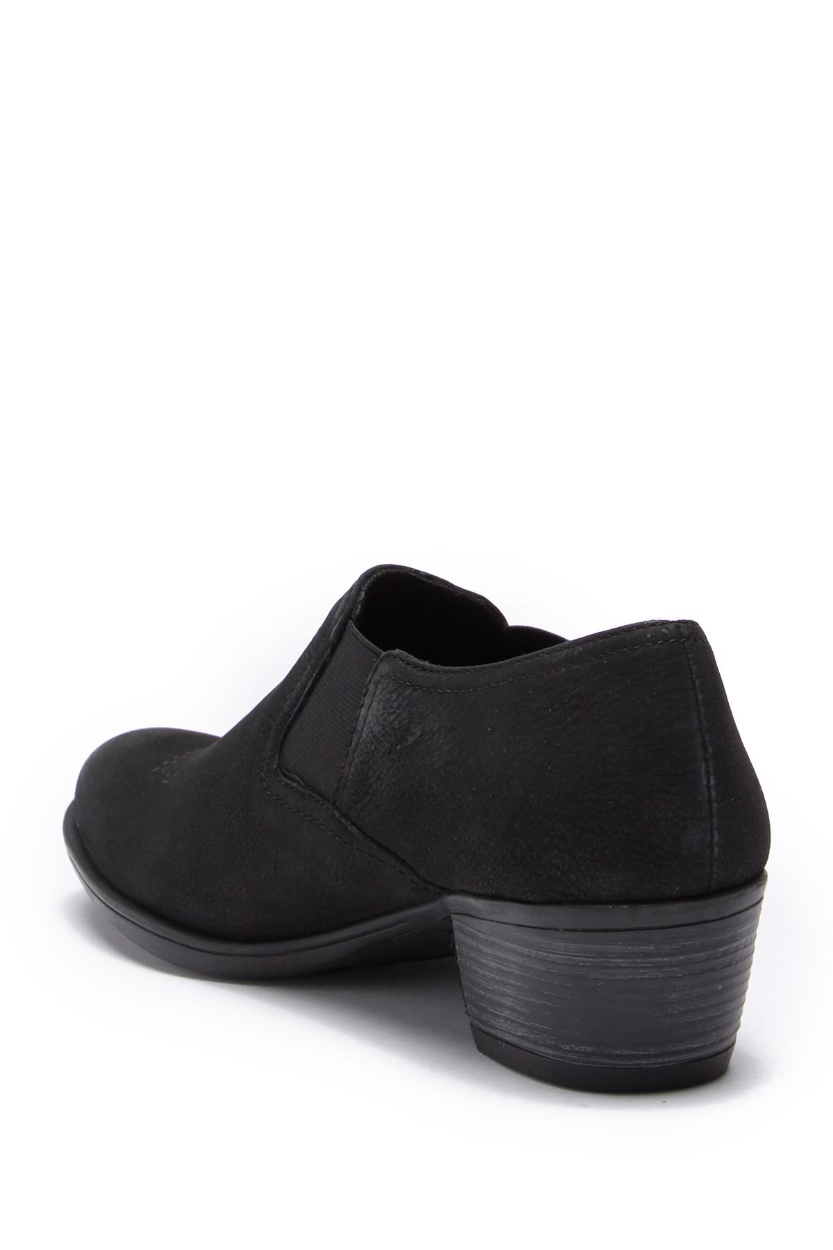 31a20439bf1 Munro - Black Silverton Ankle Bootie - Multiple Widths Available - Lyst.  View fullscreen