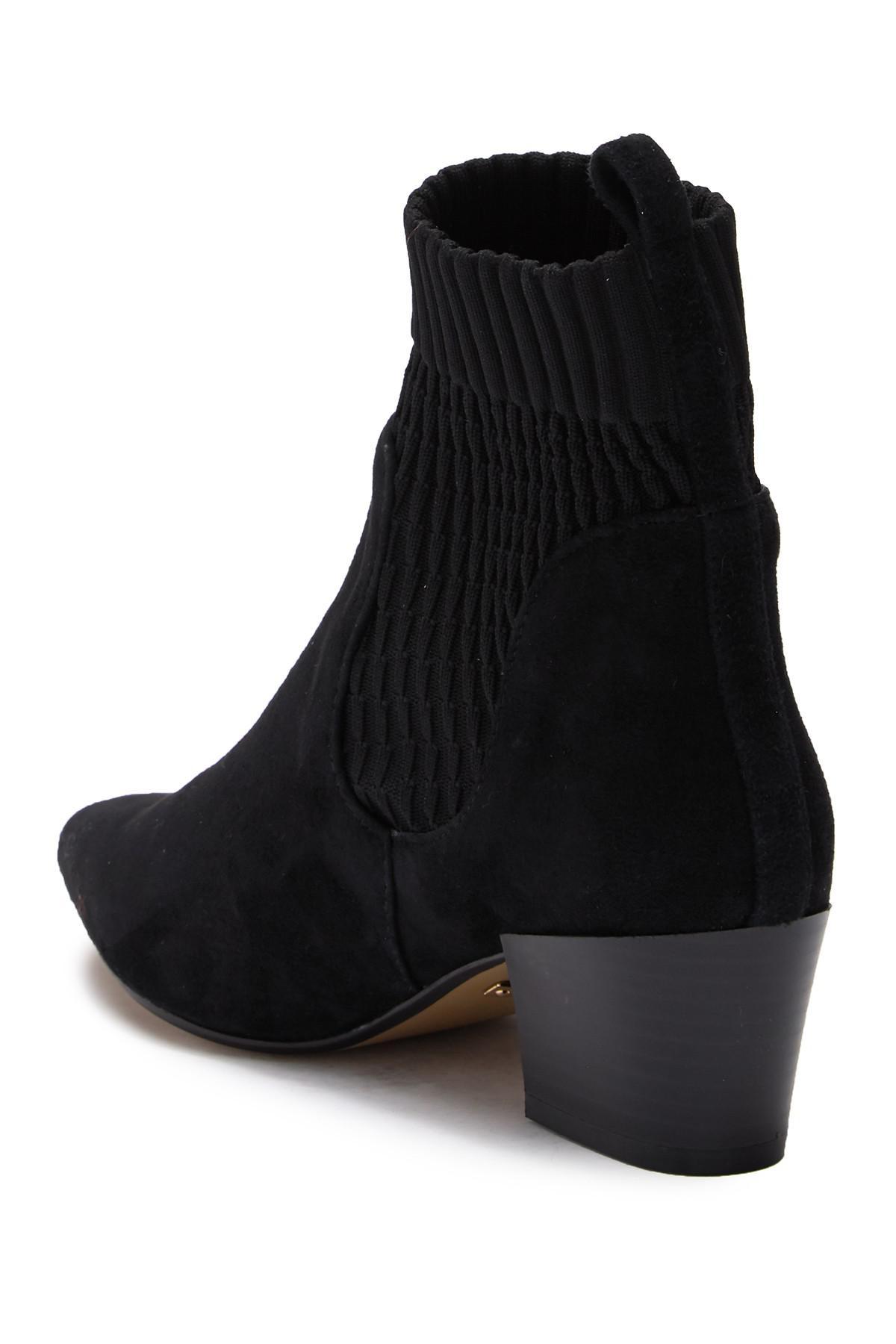 Kensie Suede Lokia Boot in Black Suede
