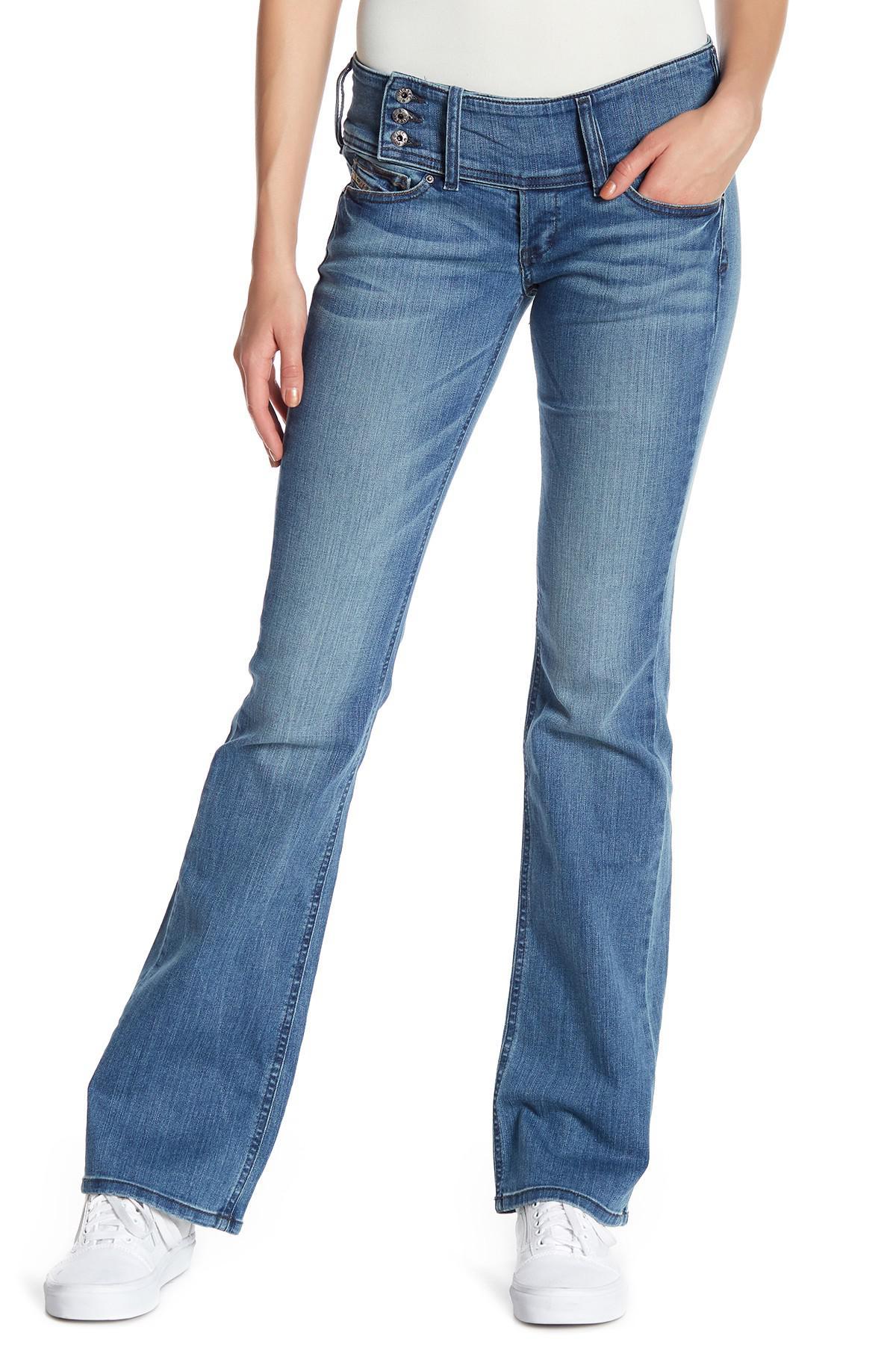 b9fddc1c DIESEL Cherock Slim Bootcut Jeans in Blue - Lyst