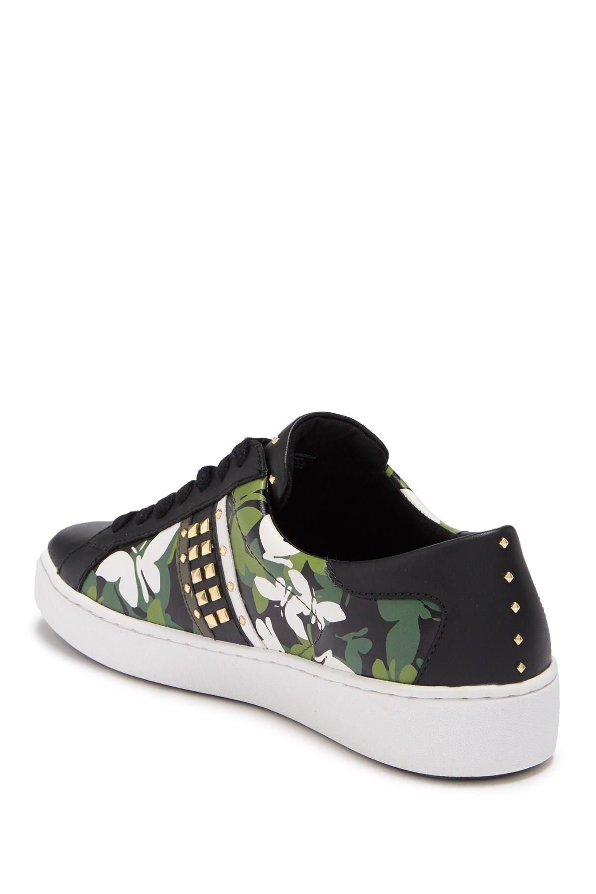 keaton butterfly camo leather sneaker