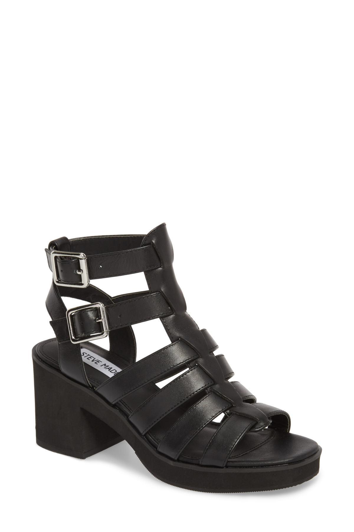 ea5628ccc67 Steve Madden Black Clue Platform Sandal (women)