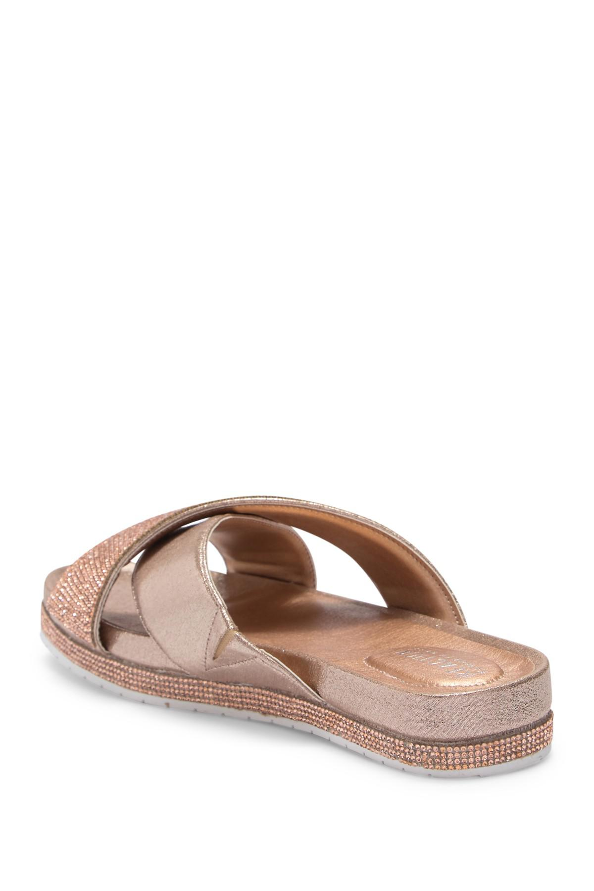 8620a041297 Lyst - Kenneth Cole Reaction Shore-ly Slide Sandal