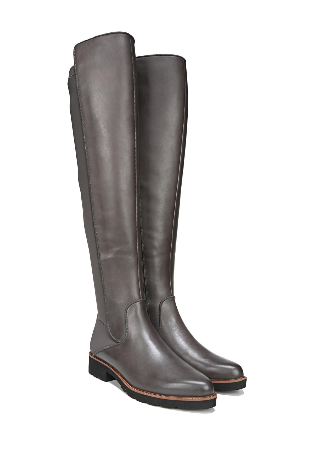 d707b2a14e8 Lyst - Franco Sarto Benner Leather Over-the-knee Boot in Black - Save 40%