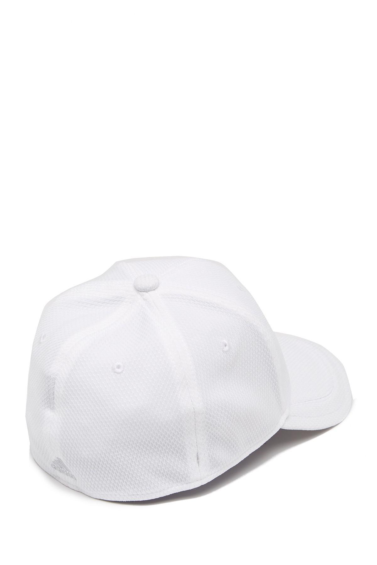 newest 3e637 e0872 Adidas - White Release Stretch Fit Cap for Men - Lyst. View fullscreen