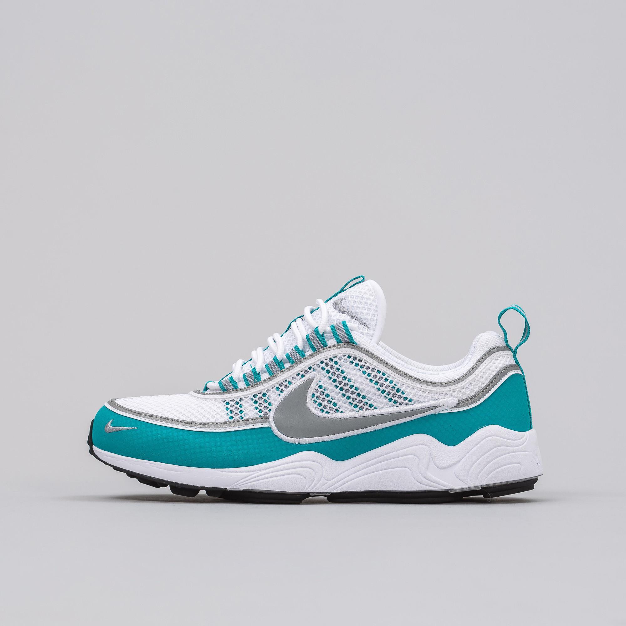 51540ae246997 Lyst - Nike Lab Air Zoom Spiridon In White silver turbo Green for Men