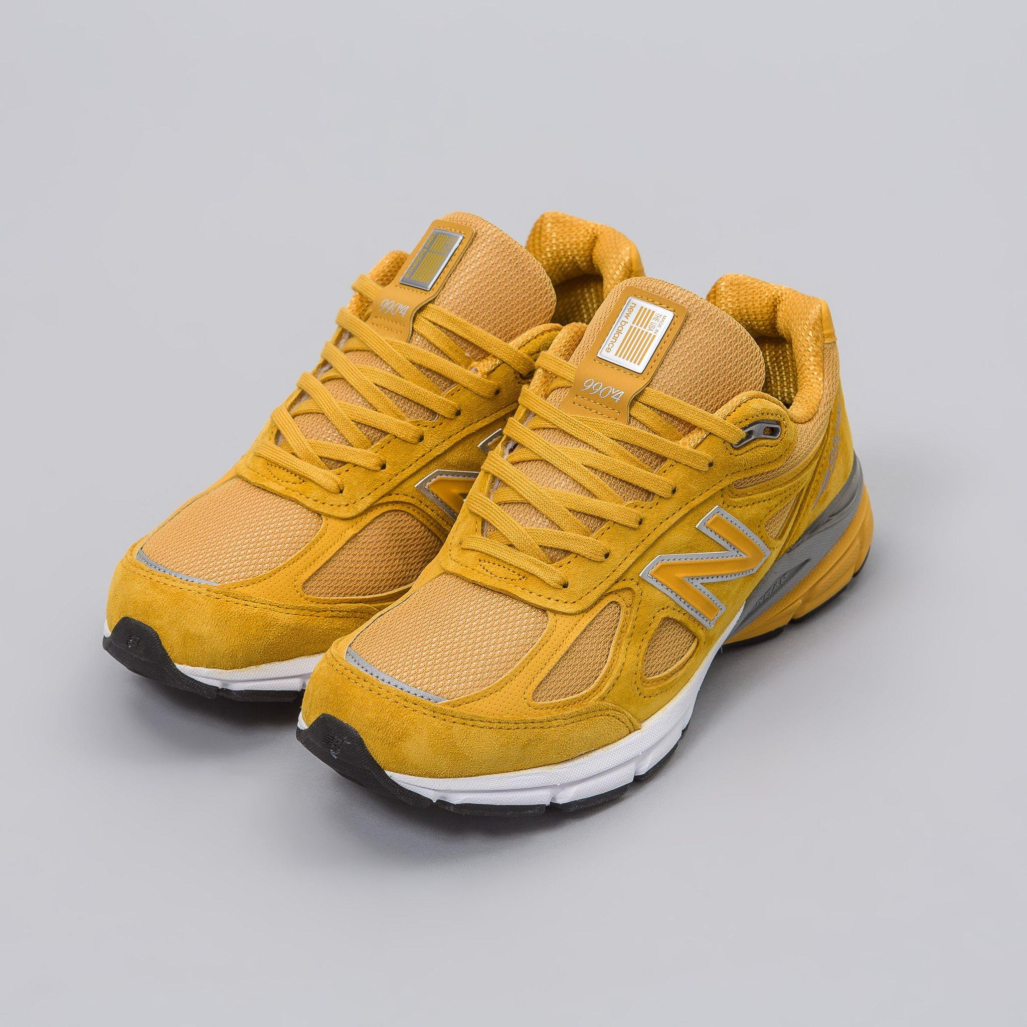 info for 4cc70 ac229 ... new zealand lyst new balance m990qk4 in yellow in yellow for men 526f0  2fa4f