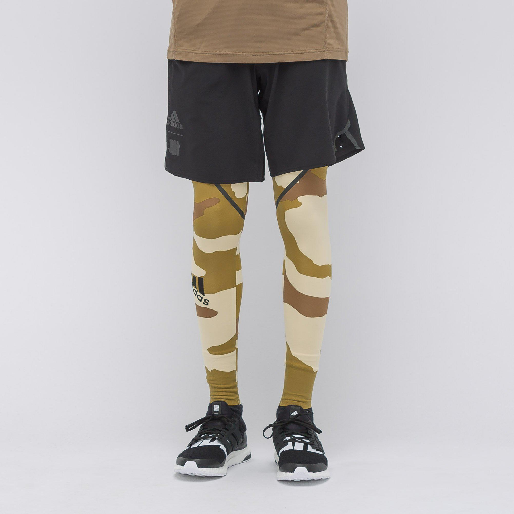 dd5c25d6405 Adidas Multicolor X Undefeated Alphaskin 360 Tights In Dune Camo for men