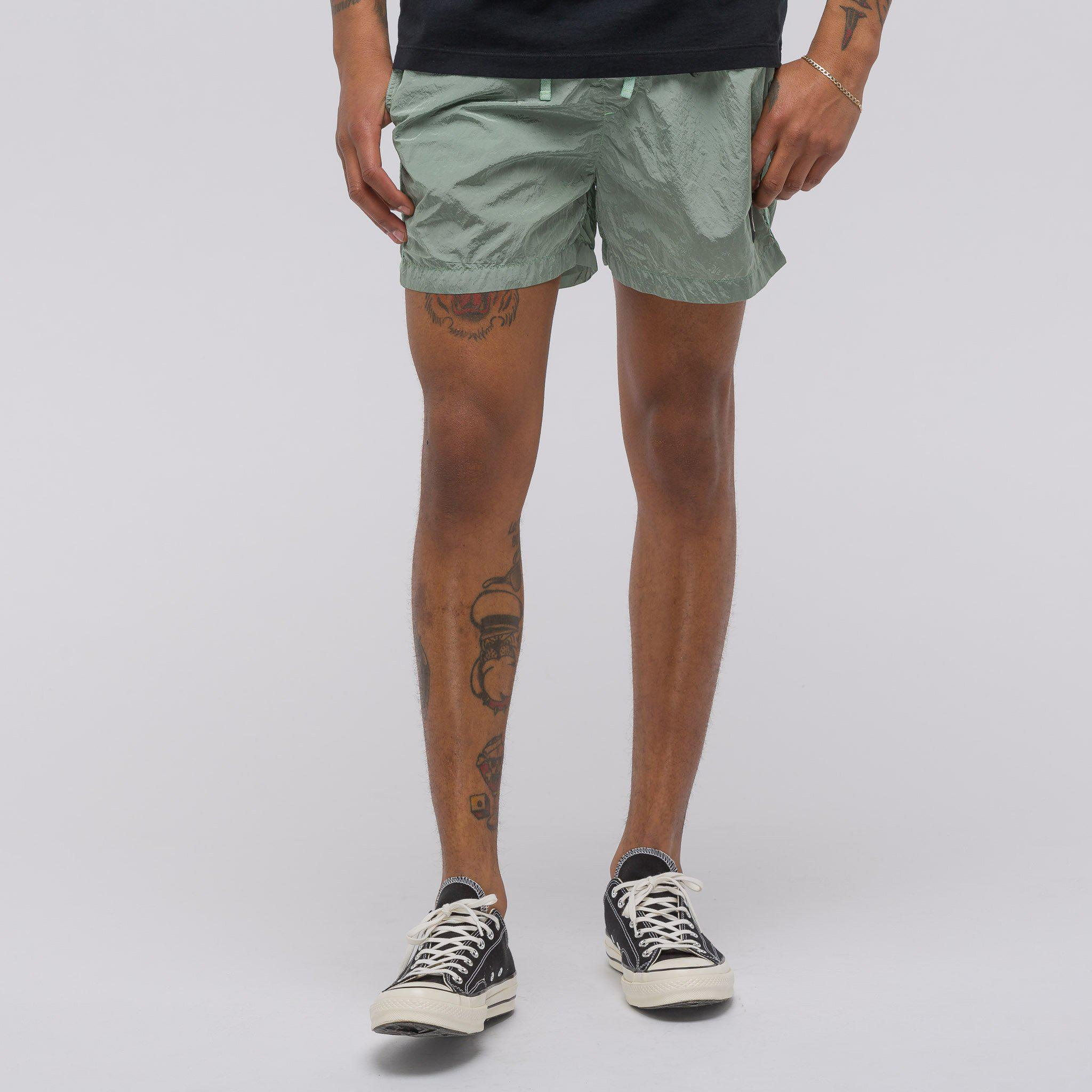 93d08bf2ed Stone Island B0643 Shorts In Green in Green for Men - Lyst