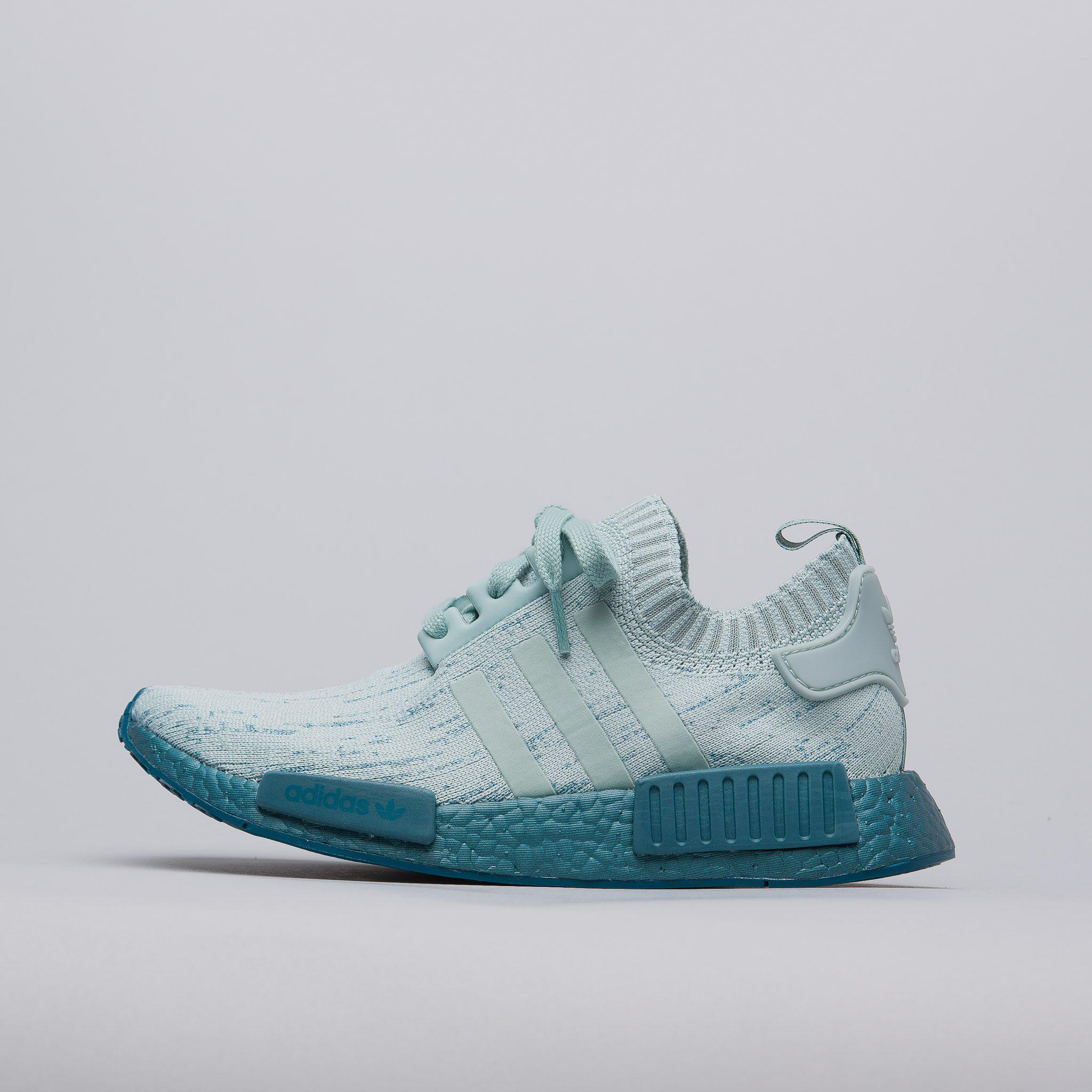 2018 sneakers presenting cheapest adidas Women's Nmd R1 Primeknit In Tactile Green for Men - Lyst
