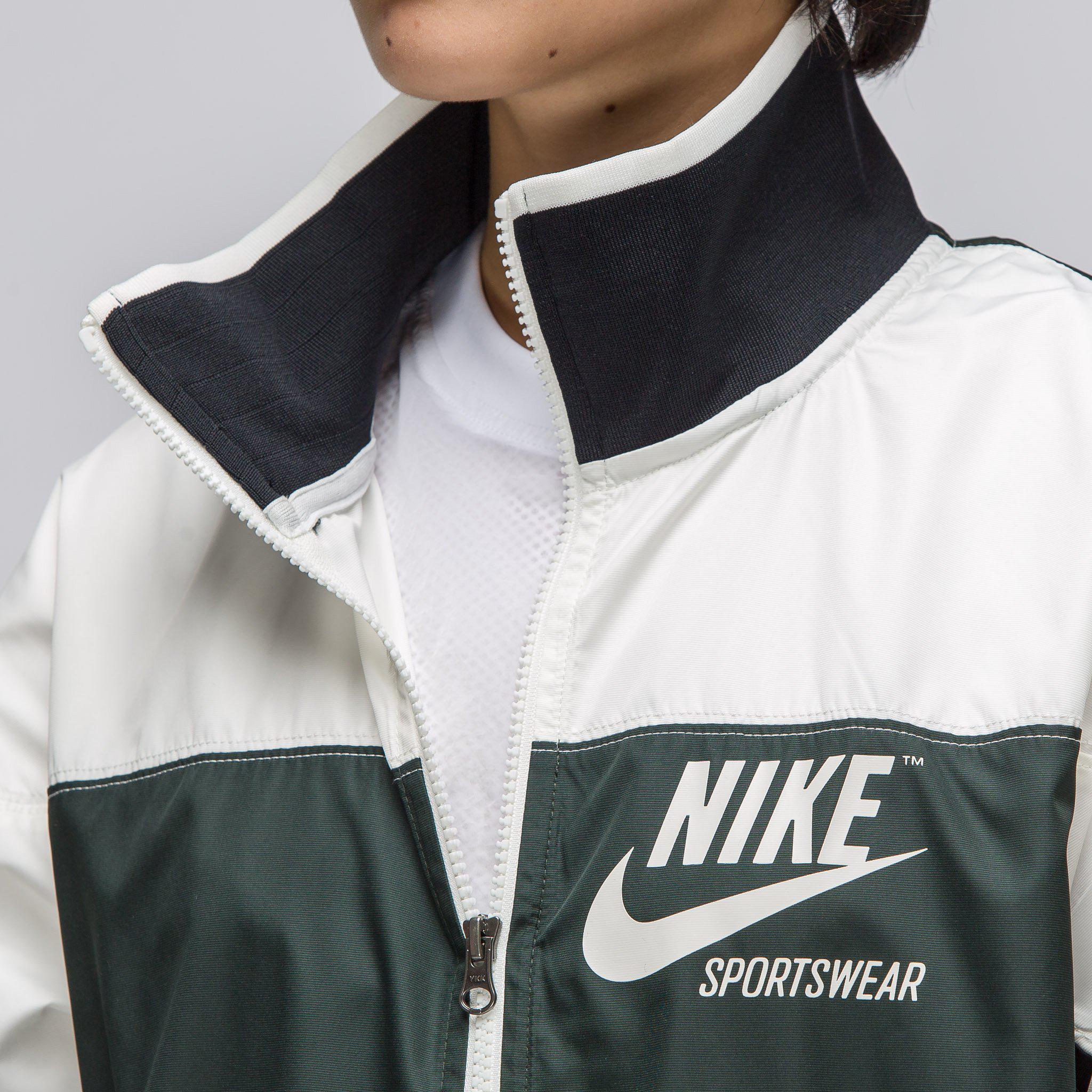 08d3ce2374a3 ... new arrive ec654 b70fc Lyst - Nike Womens Sportswear Archive1 Full Zip  Jacket In Sa ...