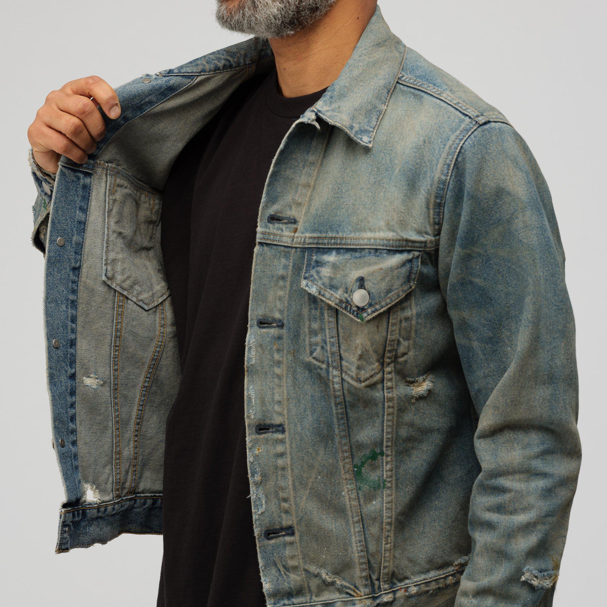 d56e1c515 John Elliott Blue Terrain Jacket Shield In Indigo for men