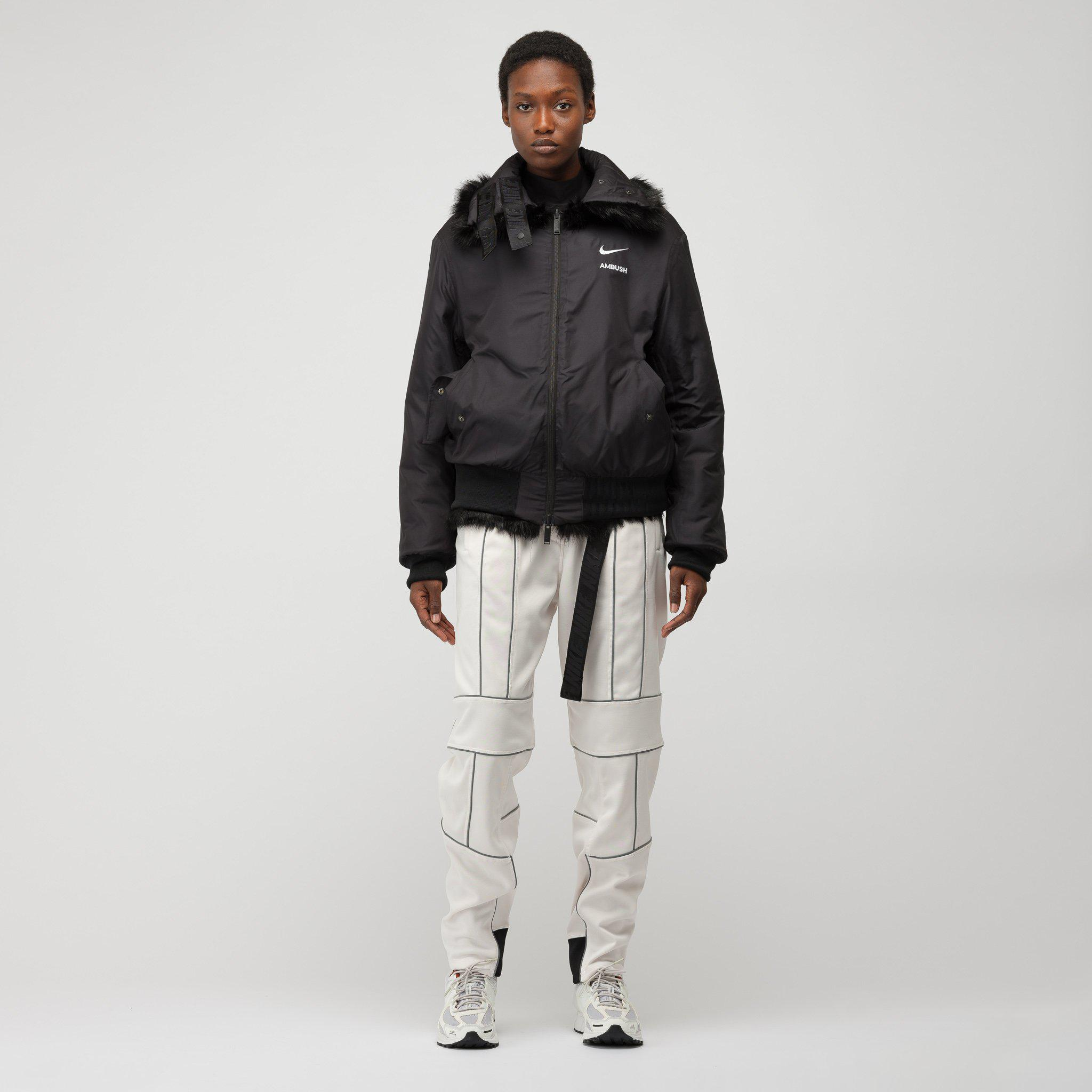Nike X Ambush Women's Reversible Faux-fur Coat In Black ...