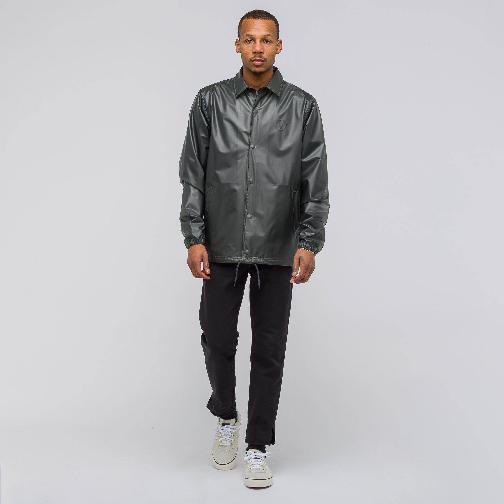 Lyst Vans X Lqqk Studio Coaches Jacket In Clear Grey In Gray For Men