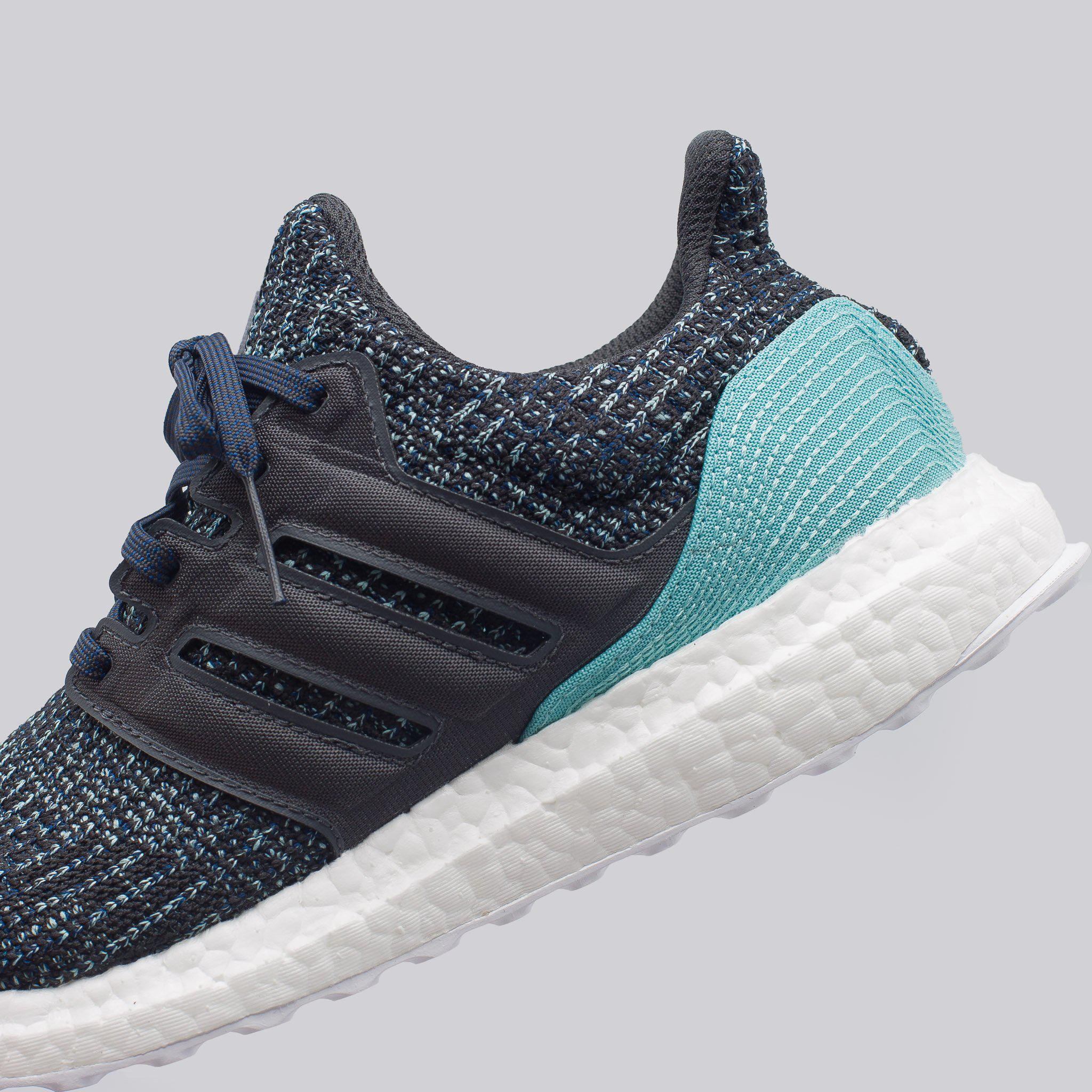 big sale 0a617 b8804 buy online 29104 a9159 Lyst - adidas Parley Ultraboost In Carbon in Blue  for Men