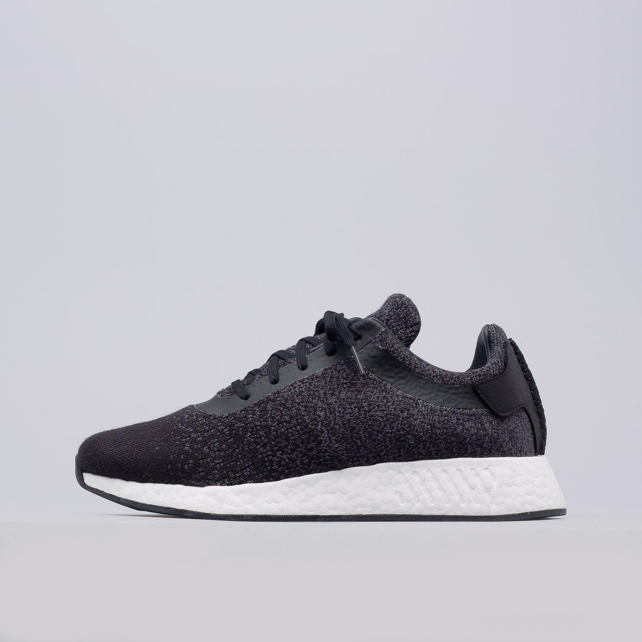 professional sale watch save up to 80% adidas Wool X Wings+horns Nmd R2 Primeknit Core Black/utility ...