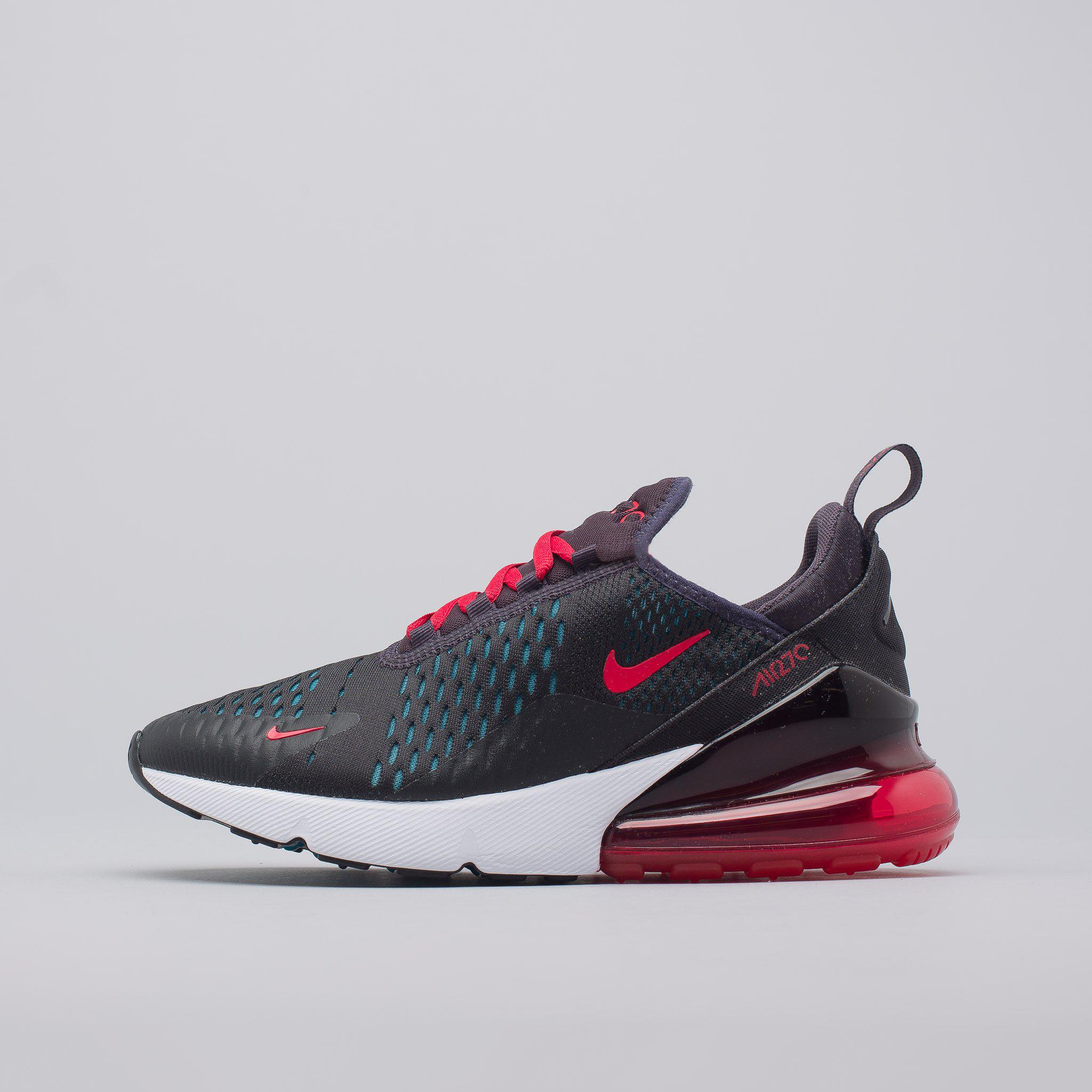 f1e45570dd ... where to buy lyst nike womens air max 270 in oil grey speed red in red