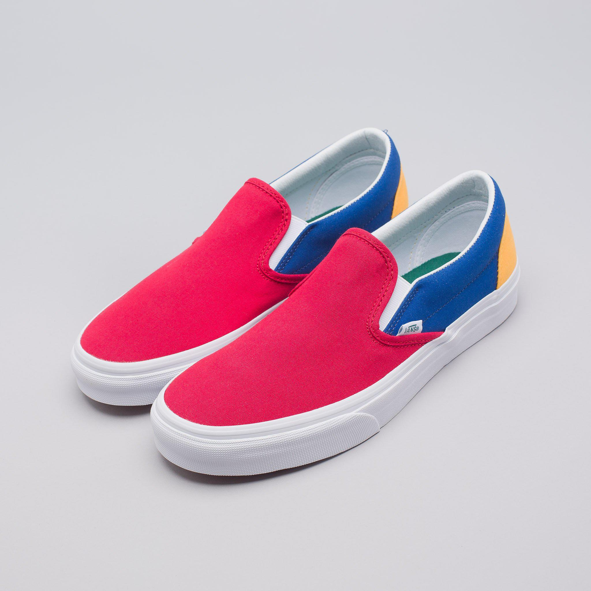 top-rated cheap search for clearance new release Yacht Club Classic Slip-on In Red/blue/yellow