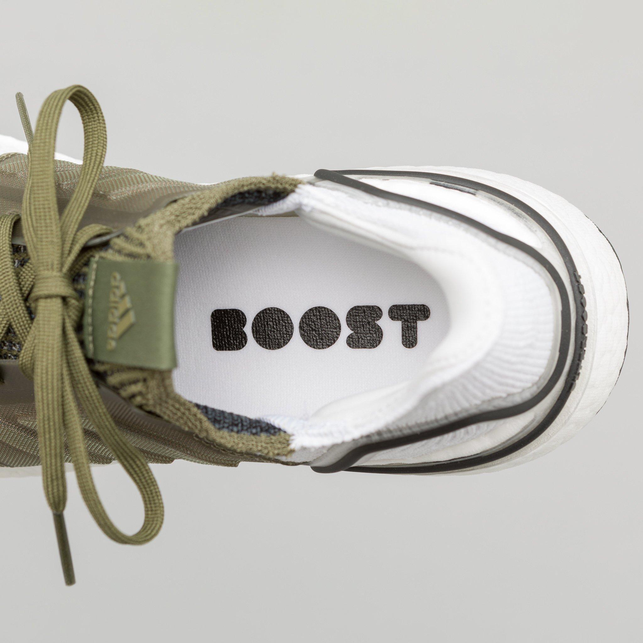 987d858273a82 Adidas - Ultra Boost 19 In Khaki white for Men - Lyst. View fullscreen