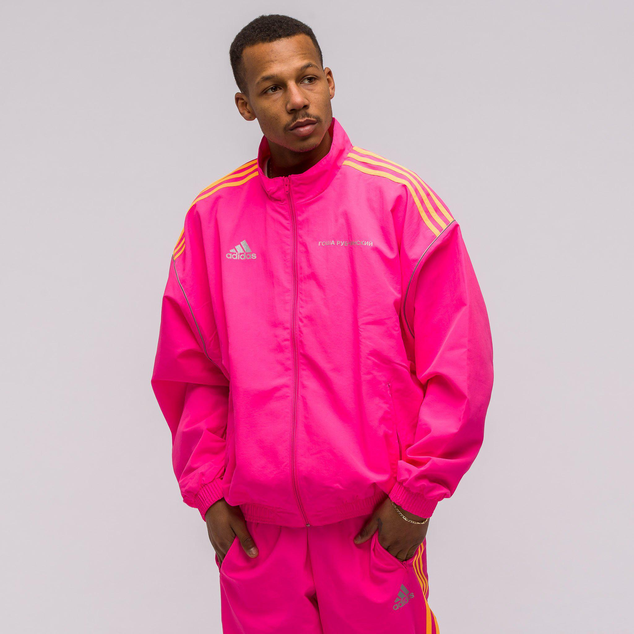 best loved 61e98 e5ad7 ... 100% top quality Lyst - Gosha Rubchinskiy X Adidas Track Jacket In Pink  in Pink ...