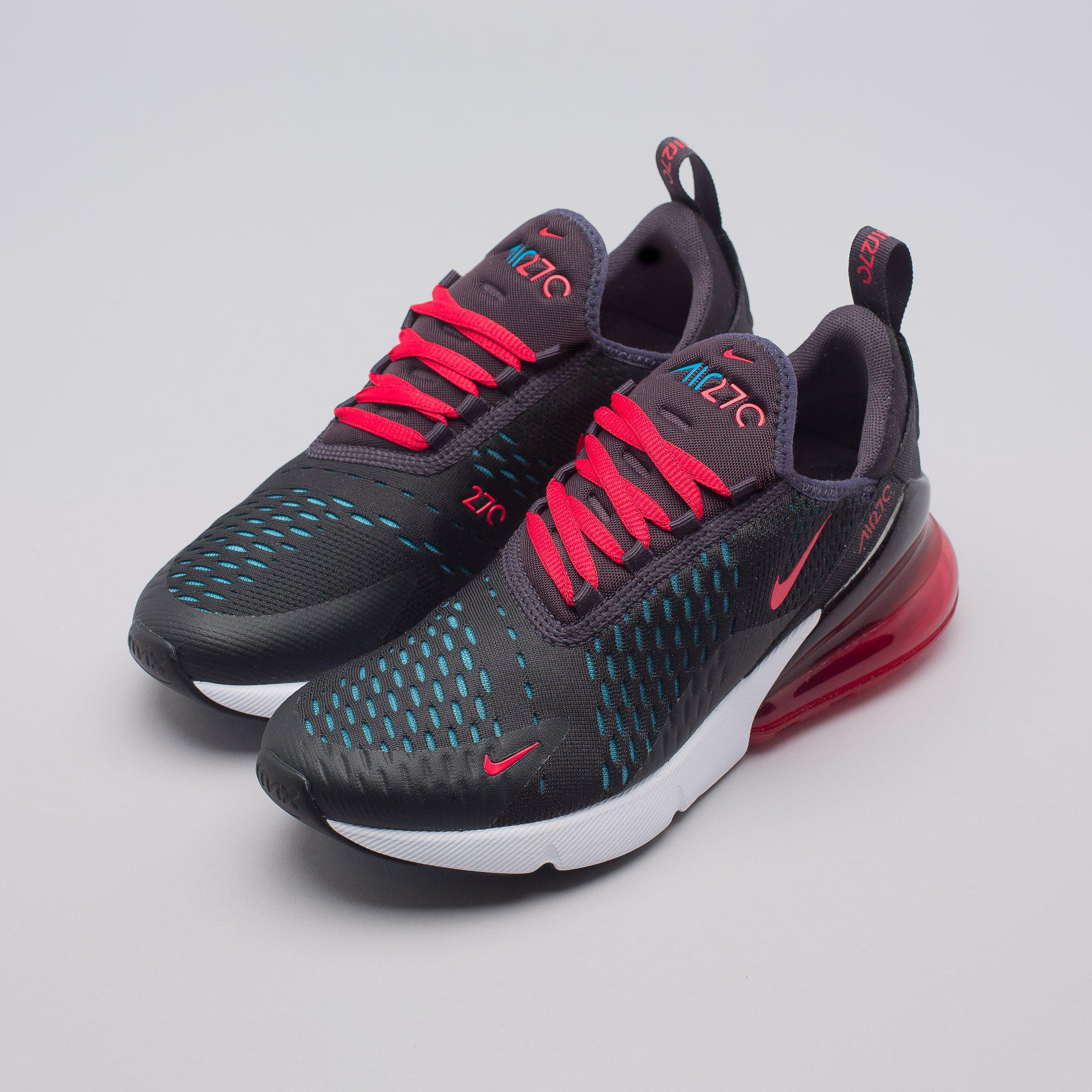 aafc1d38bd3d Lyst - Nike Women s Air Max 270 In Oil Grey speed Red in Red for Men
