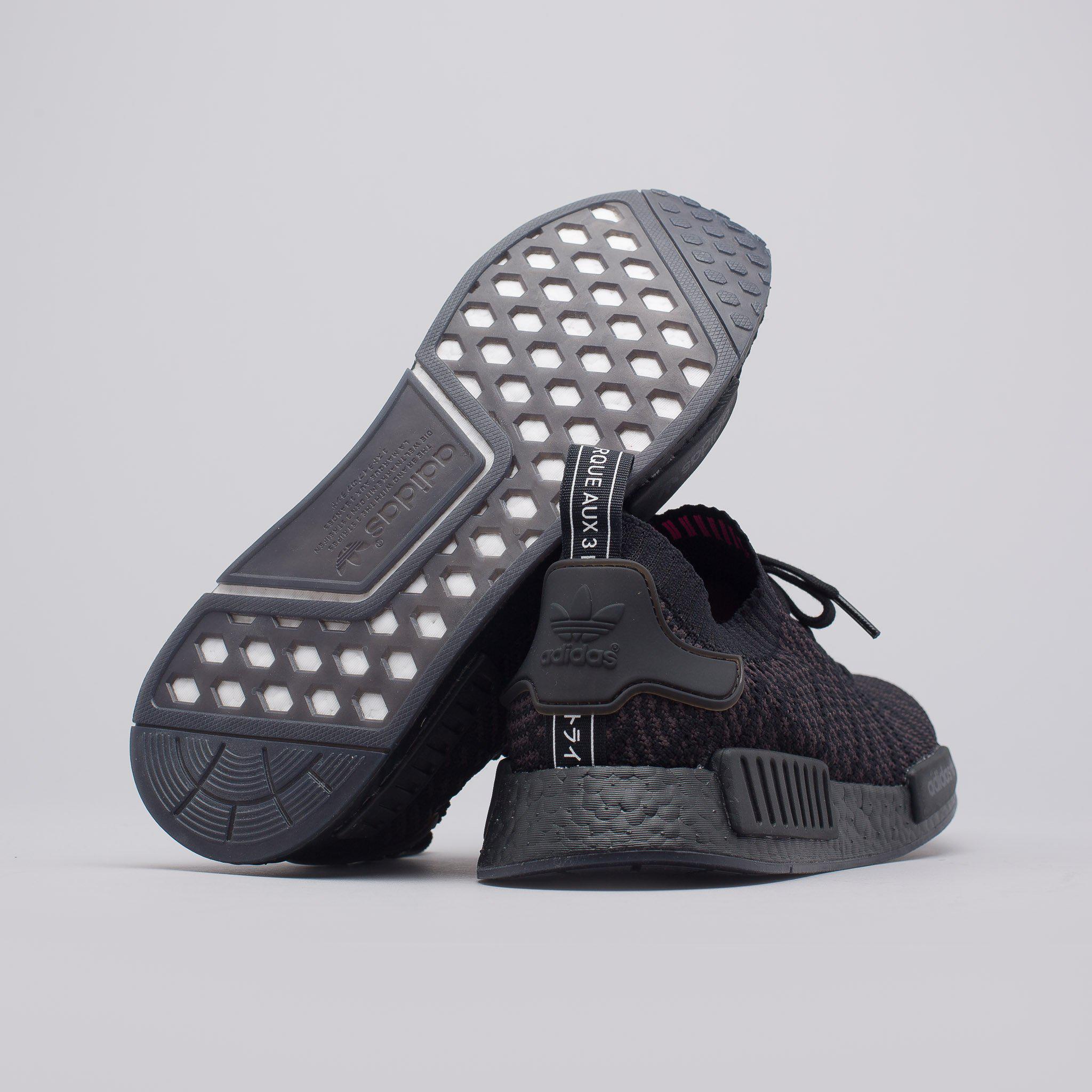 Minúsculo En la madrugada Ardiente  adidas Rubber Nmd R1 Stlt Primeknit In Triple Black for Men - Lyst