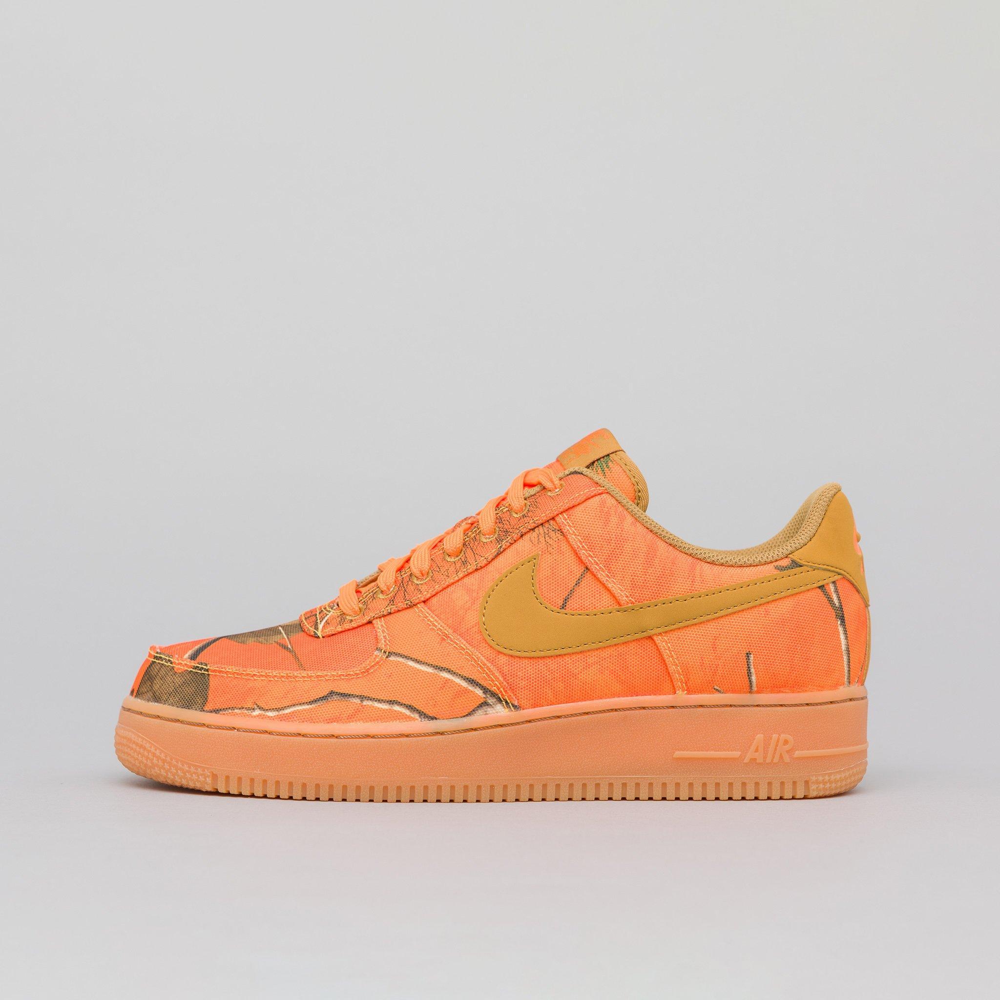50% price detailed look hot sales Air Force 1 07 Lv8 3 In Orange Blaze