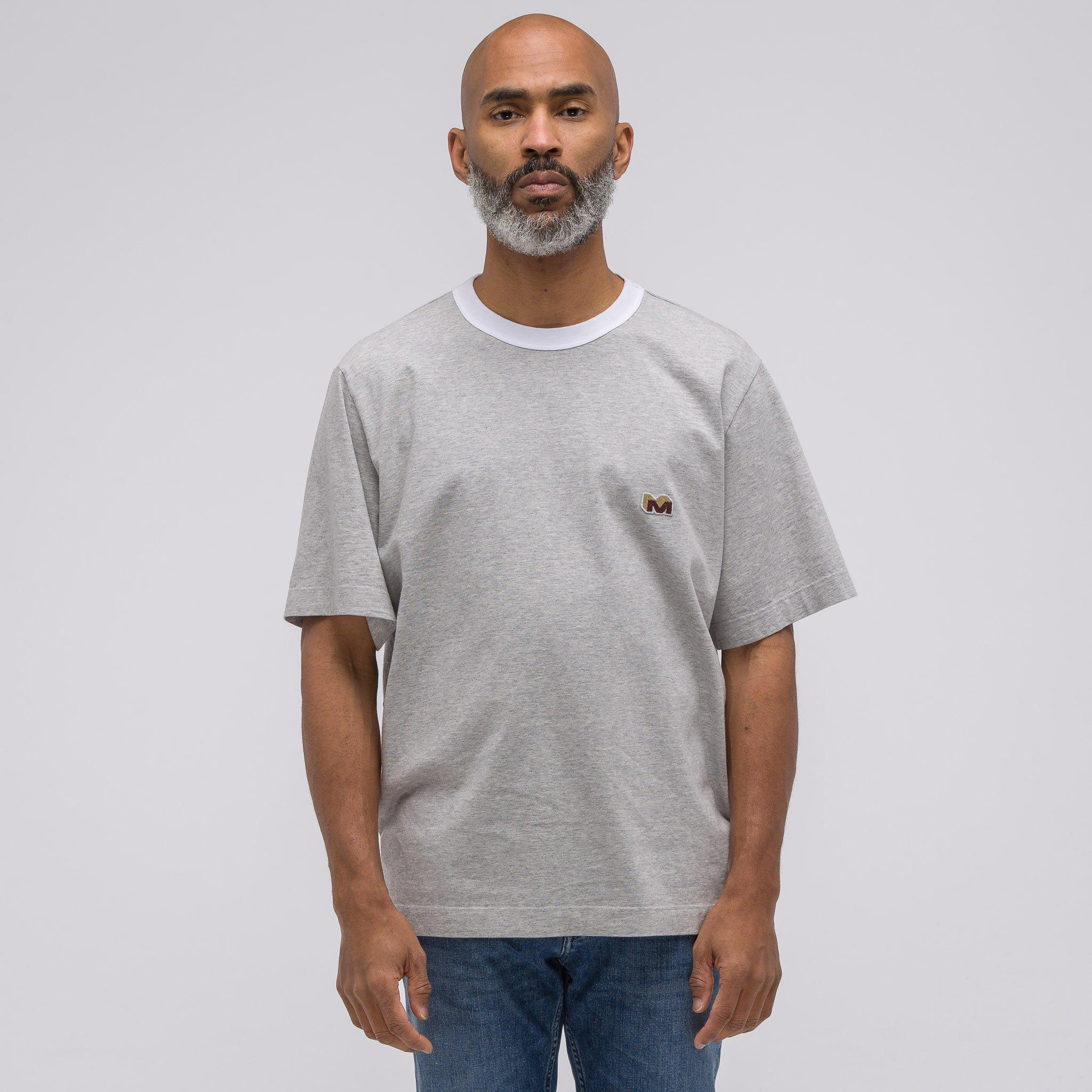 Marni. Men's Gray Short Sleeve T-shirt In Grey Melange