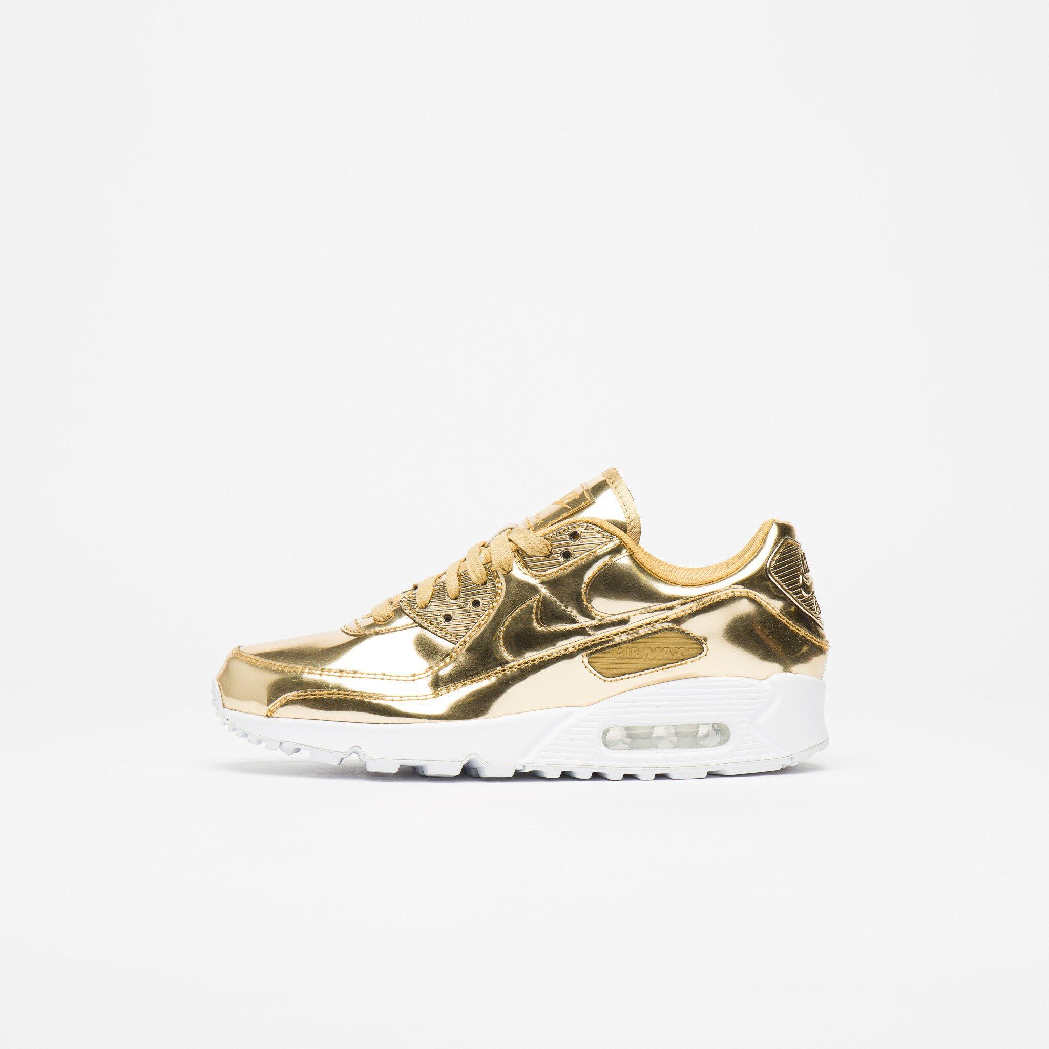 Nike Metallic W Air Max 90 Sp Low-top sneakers