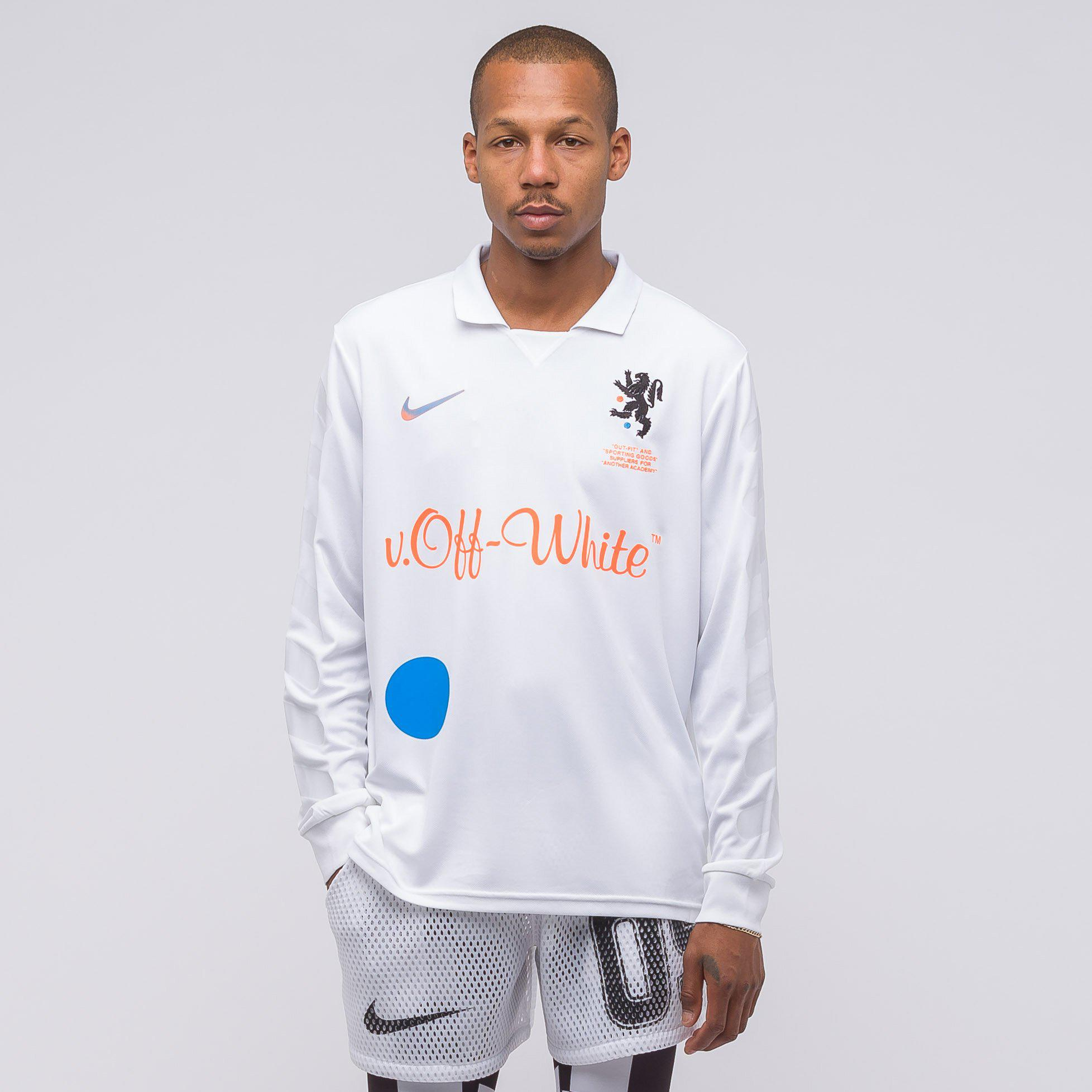 Lyst - Nike X Off-white Home Football Jersey In White orange in ... 30b67681c