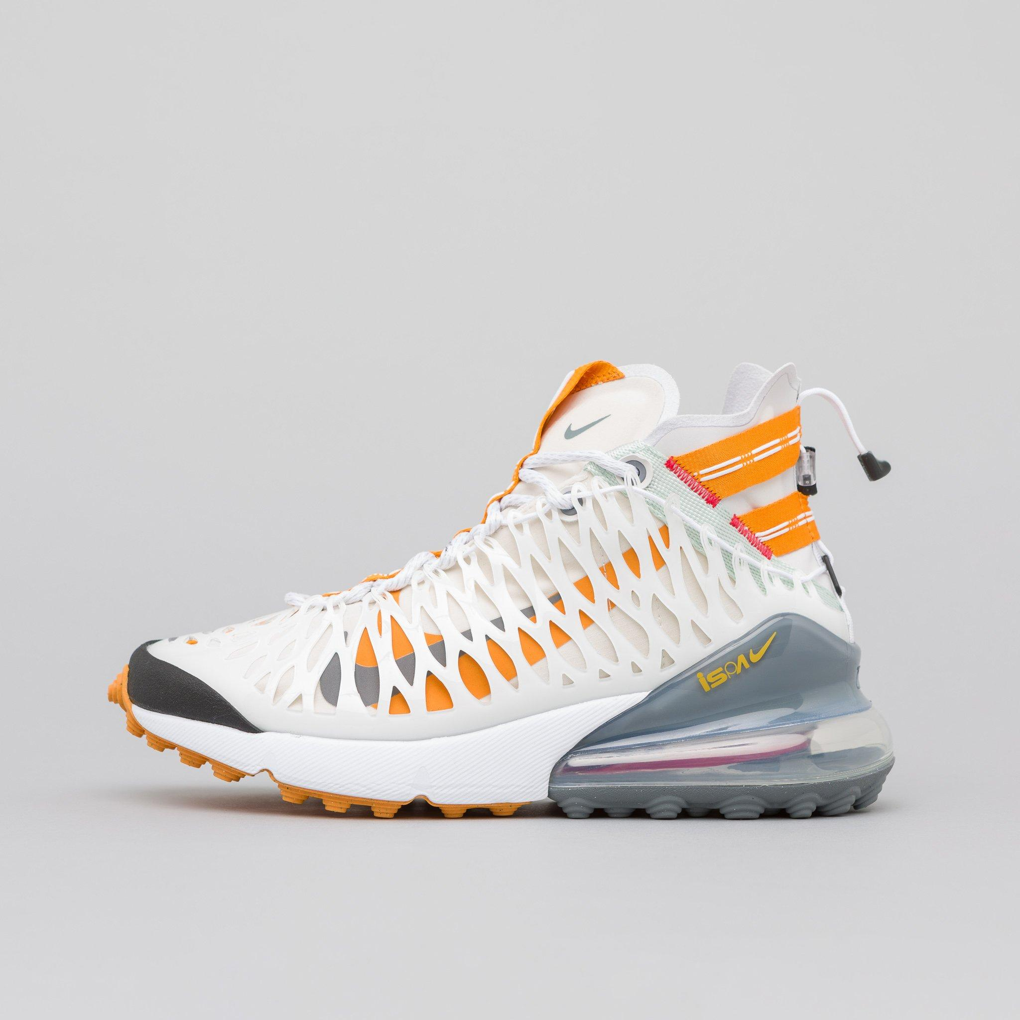 Nike Air Max 270 Ispa In Whiteamber for men