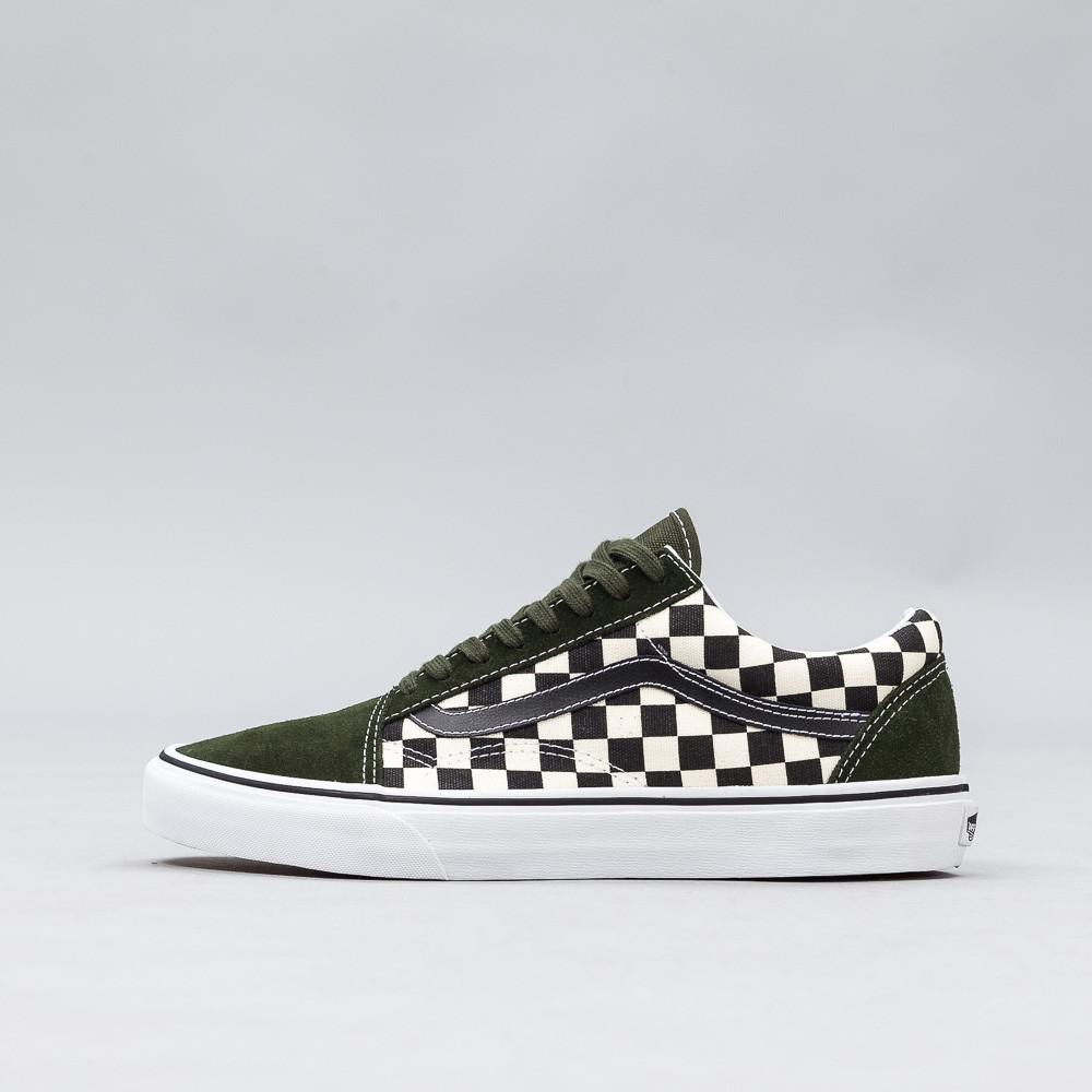 c2399939082bc2 Lyst - Vans 50th Anniversary Old Skool In Checkerboard green for Men