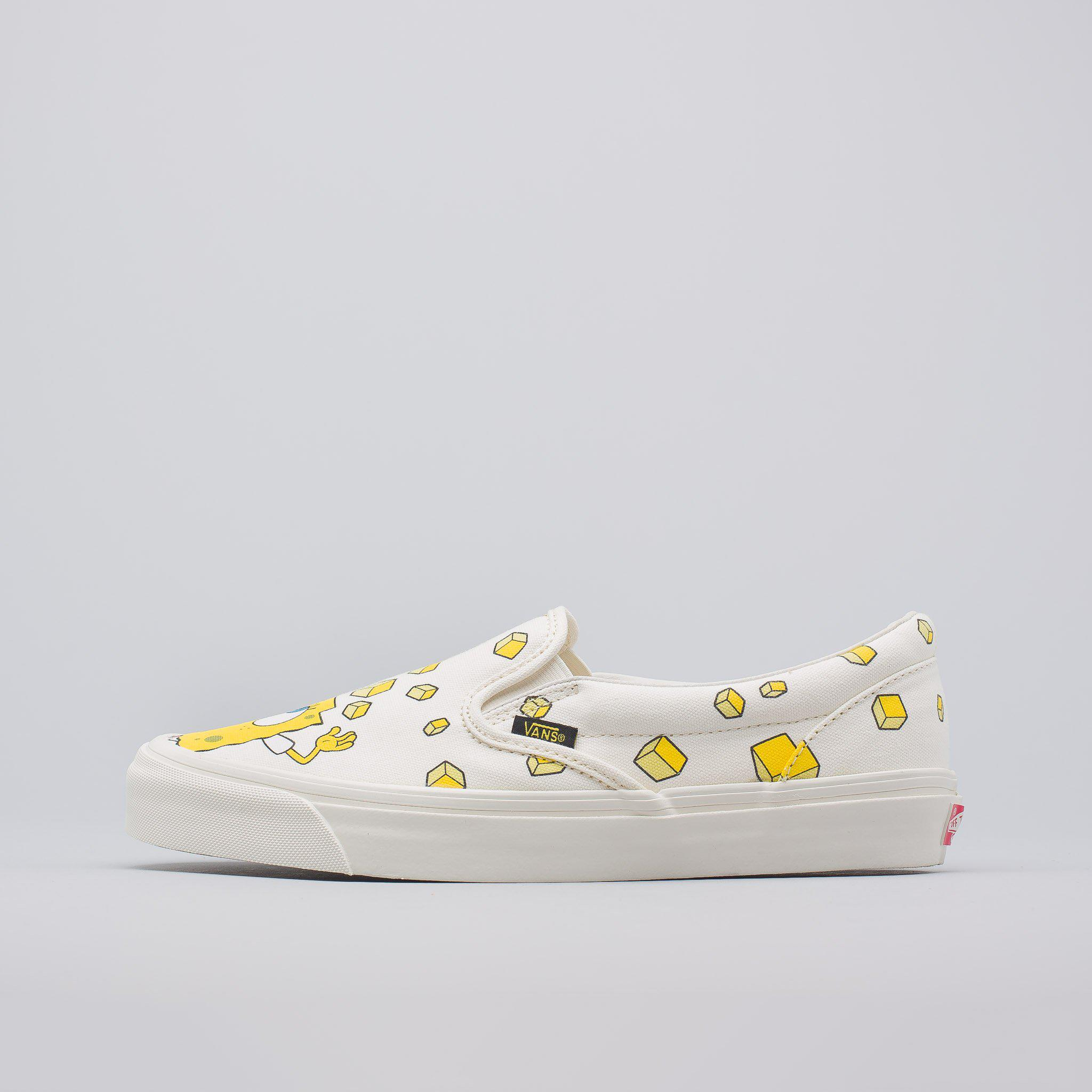 d7f52e67f3 Lyst - Vans X Spongebob Og Classic Slip-on In Checkerboard for Men